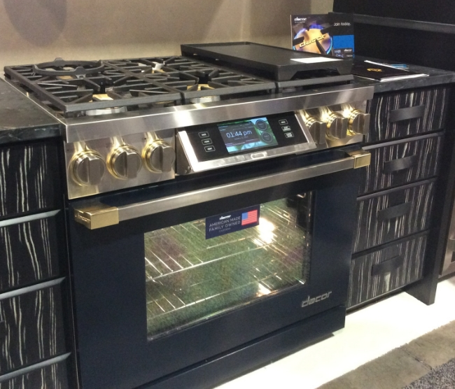 Dacor's Discovery IQ range can be accessed remotely and includes the convenience of pre-programmed recipes.