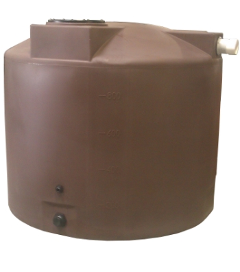 Poly-Mart's 1,000 gallon Rainwater Harvesting Tank