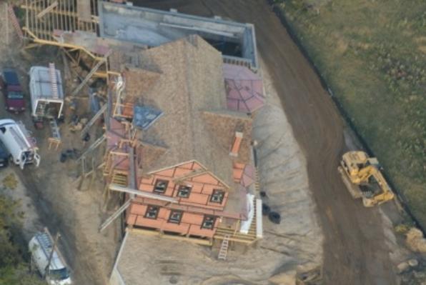 Anbrook Industries' taper sawn Certi-label SFI certified roof shingles