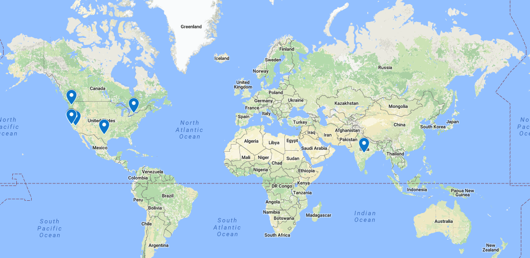 Google Map of PM Interview Practice Partners