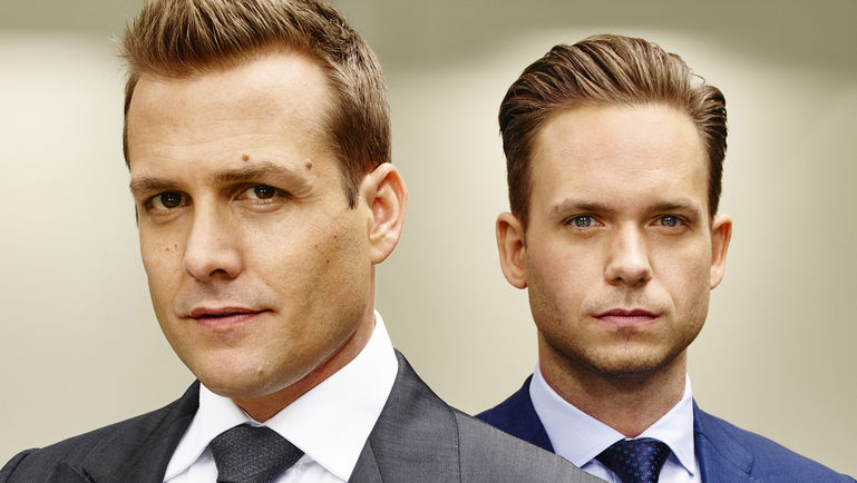 Your Prototypical Sponsor & Protégé Relationship: Harvey & Mike from  The Suits    Photo Credit: USA Network