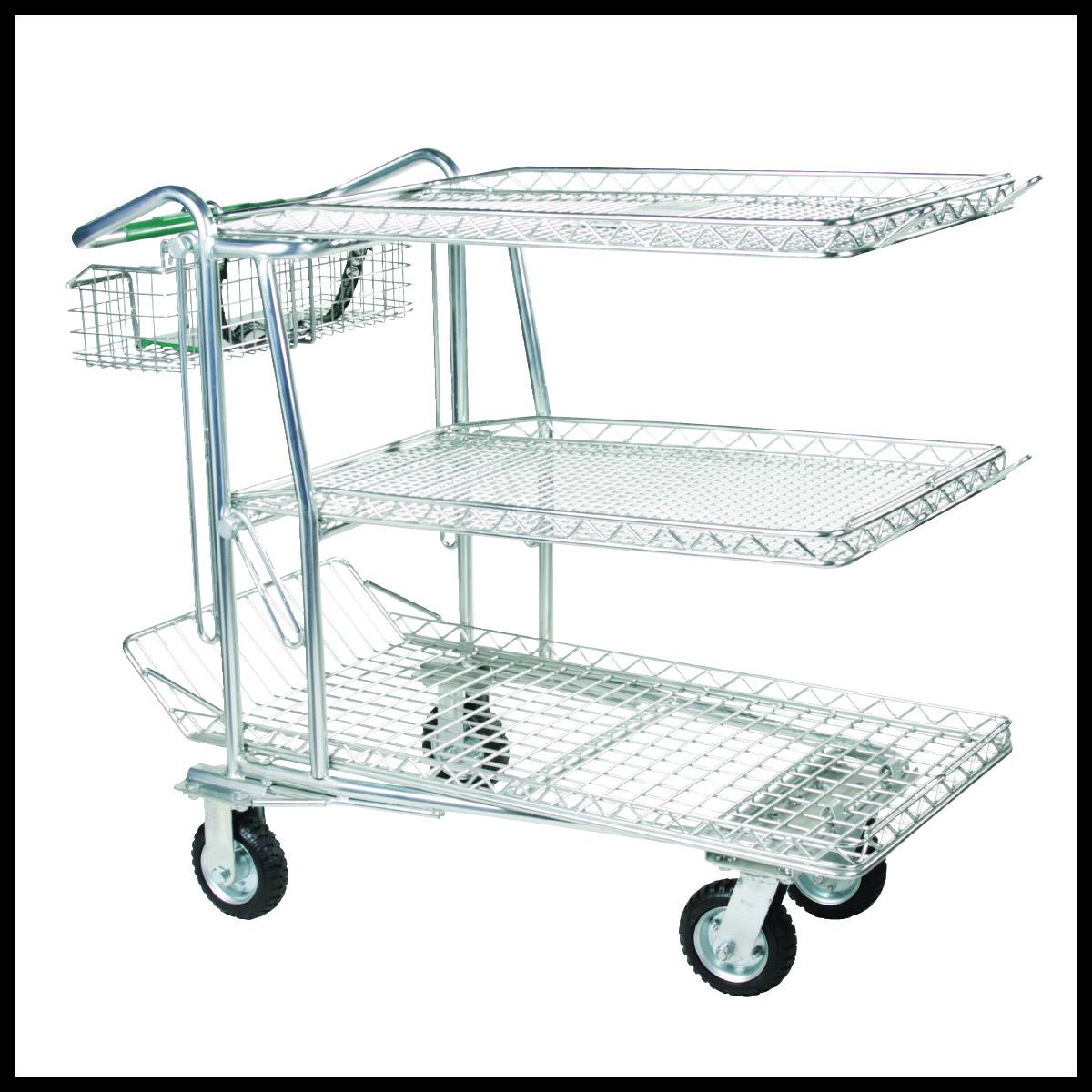3-Shelf Carts