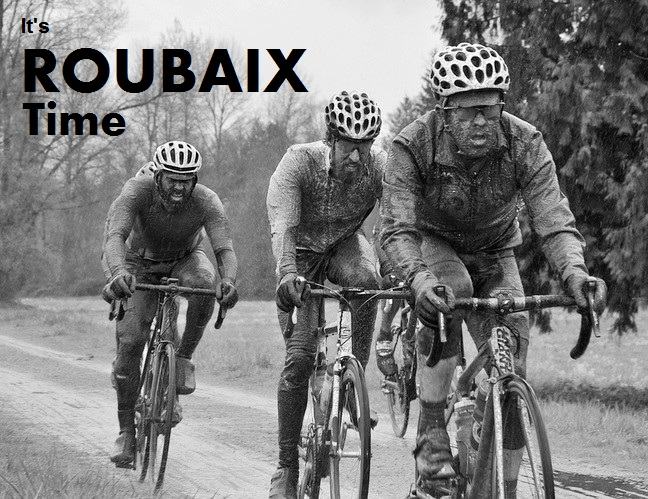 An iconic image from last year's Barry's Roubaix. Photo: Paul Craig
