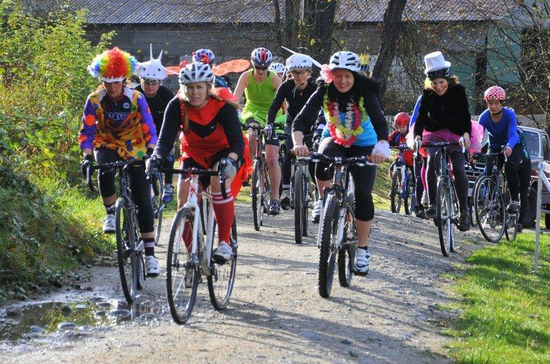 Pumpkin Cross has attracted large fields of Novice Women because we make it easy! Photo: Paul Craig