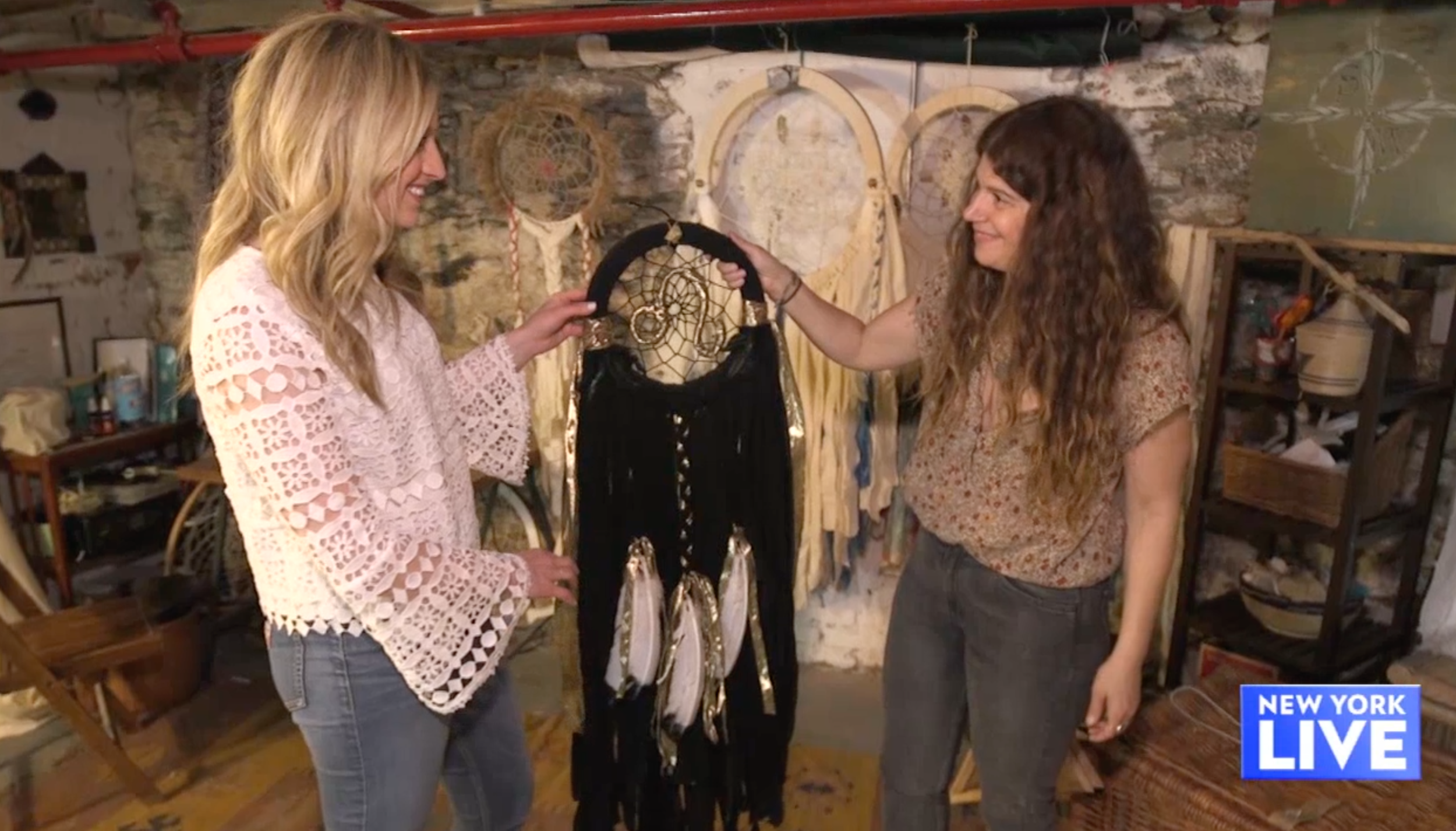 New York Live Interview with Genga at Spoke Woven -Meet the Dreamcatcher Artist Even Celebs Seek Out