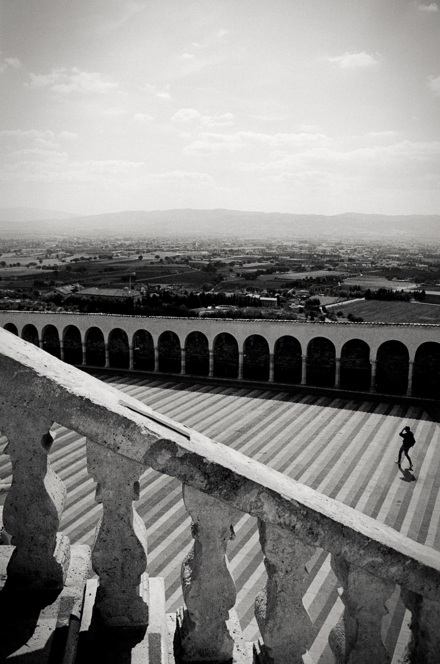 Basilica of Saint Francis, Assisi, Italy 2001.