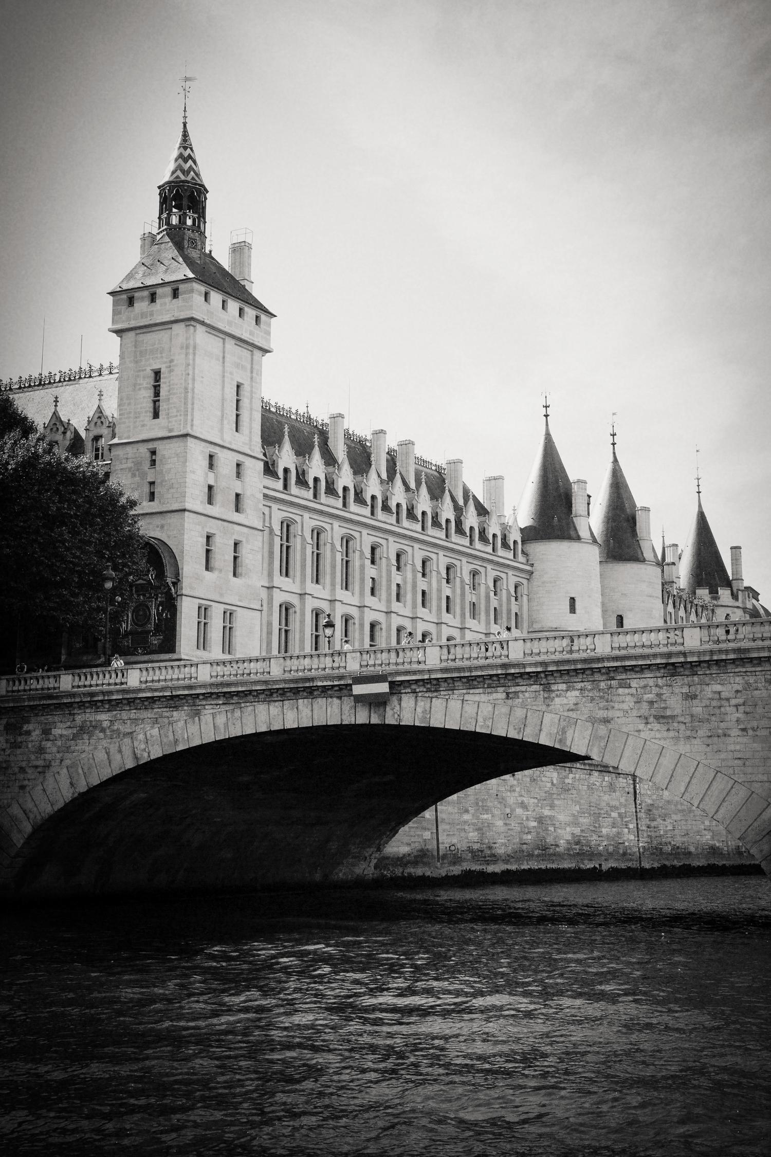The Conciergerie, River Seine, Paris 2014.