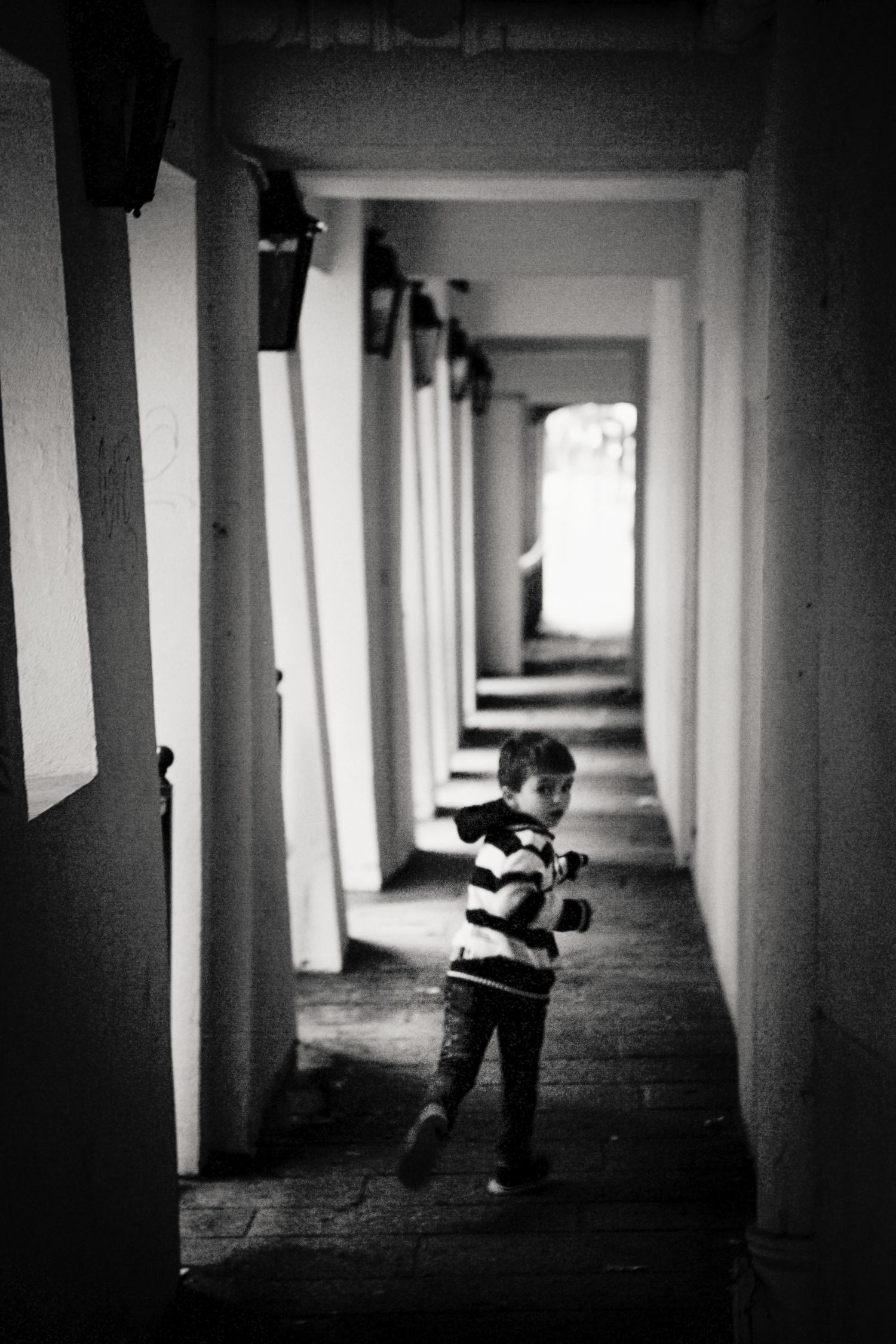 running boy, Paris 2014.