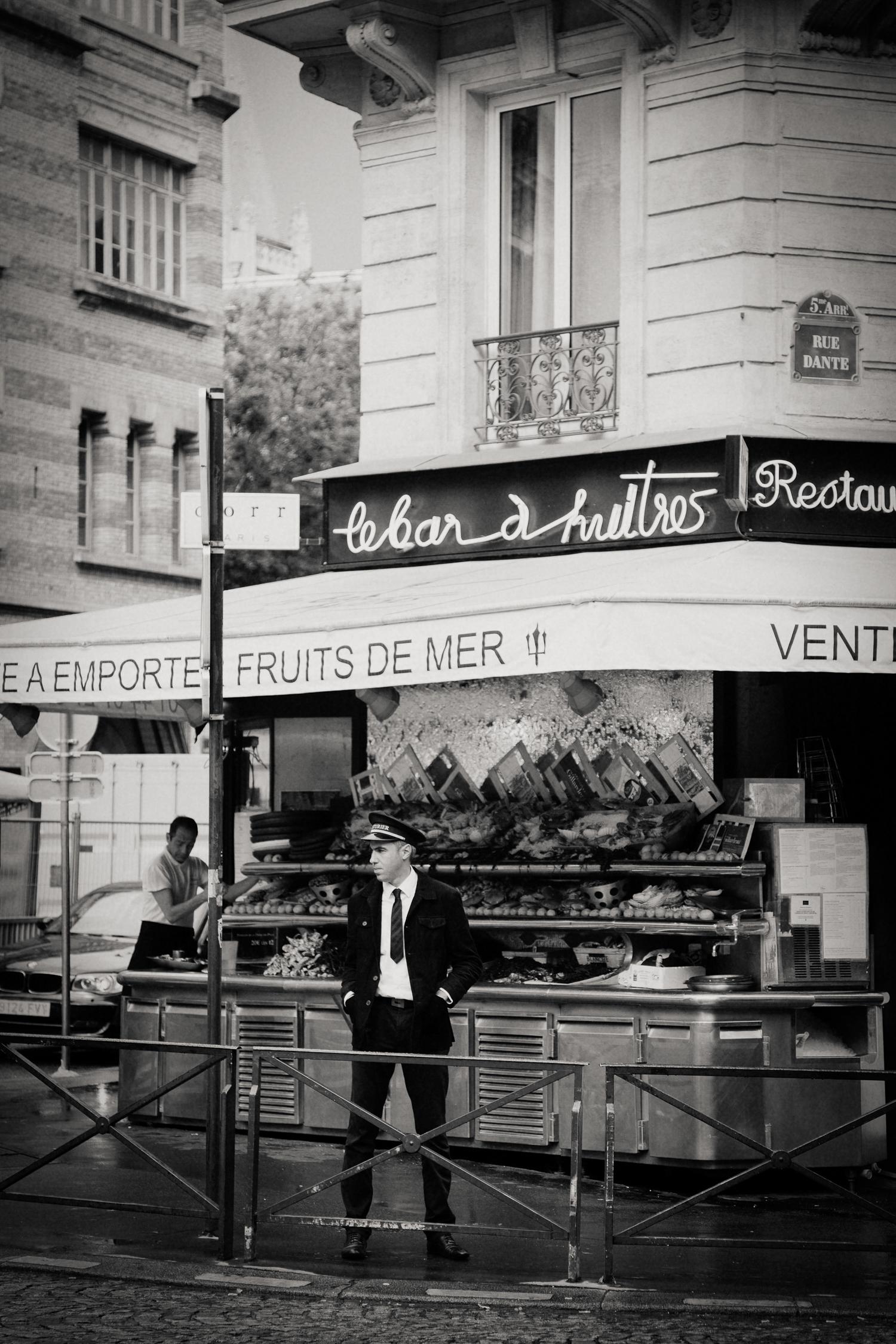 doorman, Paris 2014.