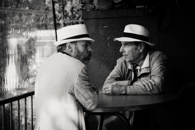 2 men, Paris 2014.