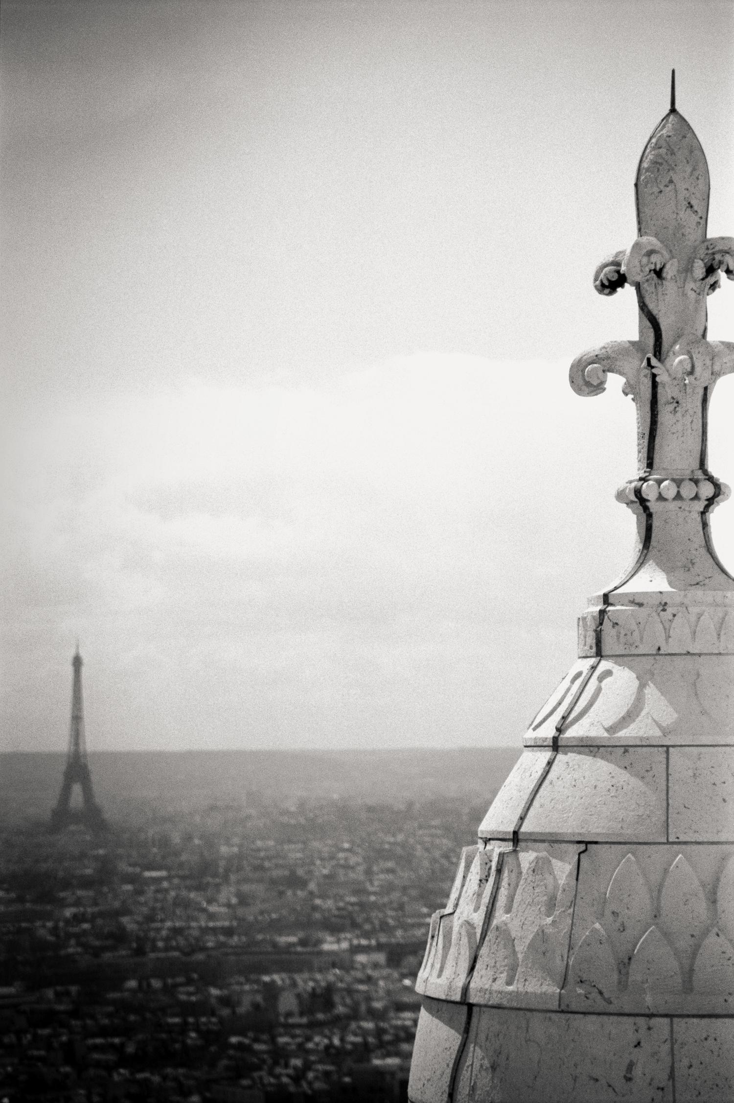 Montmartre, Eiffel Tower, Paris 2014.