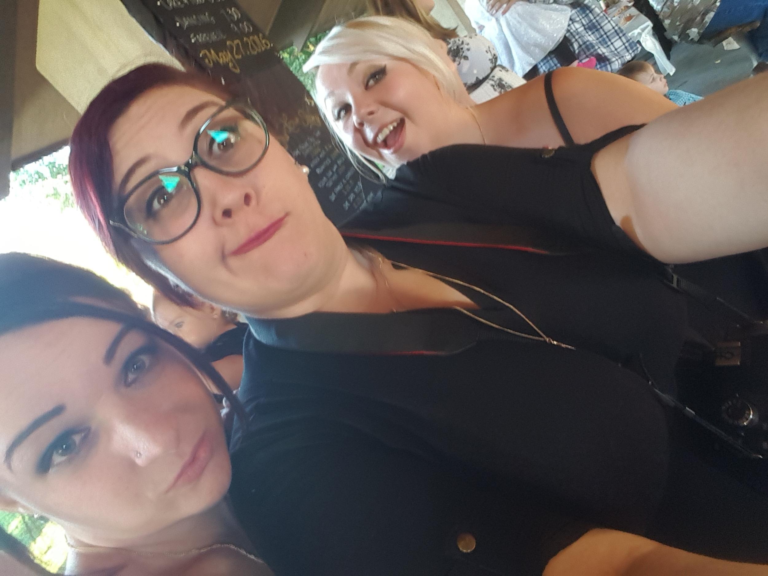 Brides Maid Selfie