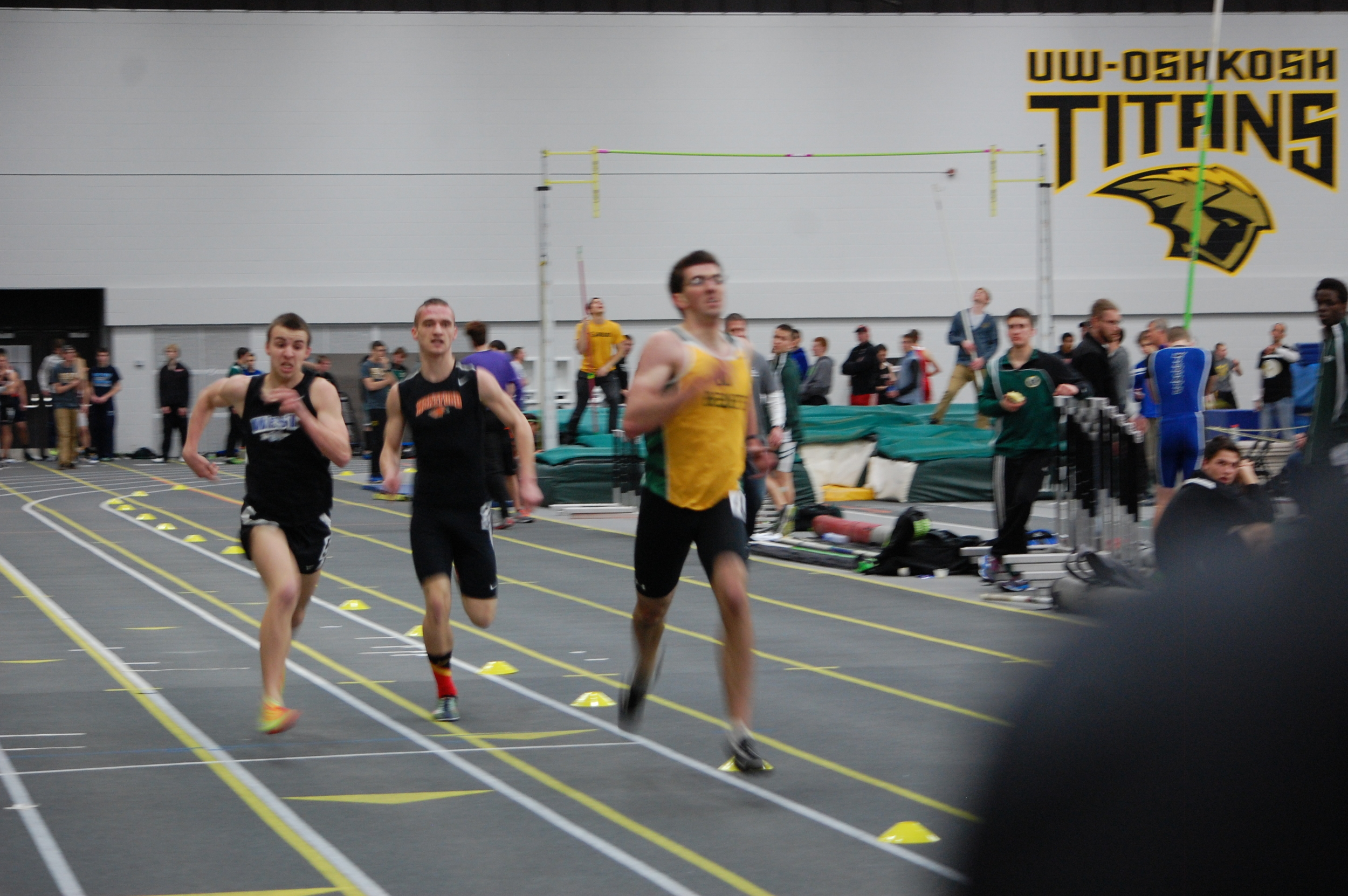 Jake Rost finally passes his opponents and finishes the race strong.