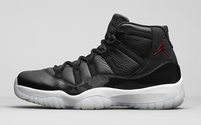 The Air Jordan 11 is widely regarded as one of best, or the best, Air Jordan to ever be released. Again designed by shoe design legend Tinker Hatfield, the Air Jordan 11 and subsequent retro continue to garner much respect in the shoe community. In fact, the Retro 11 was the most resold shoe in 2015, which is a testament to just how popular it is.
