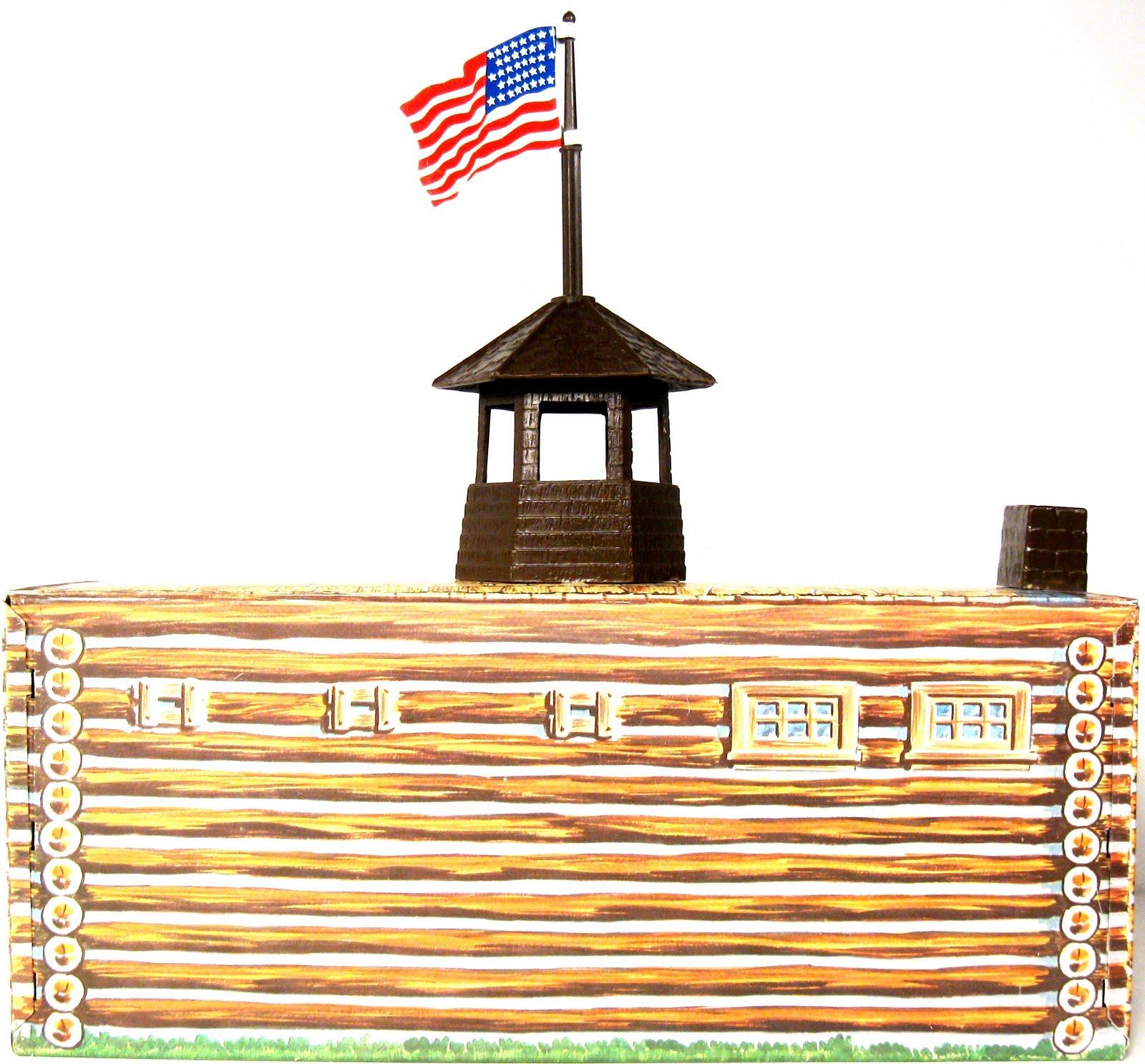 Marx Fort Apache HQ 1l.JPG