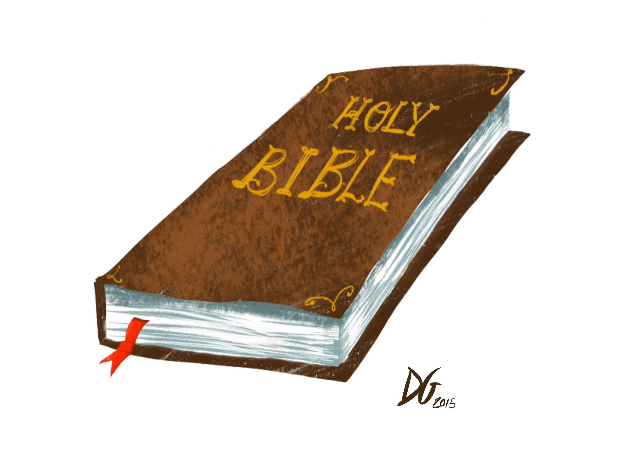 Digital Art - Bible