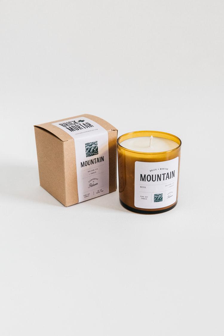 Brick + Mortar Candle $28