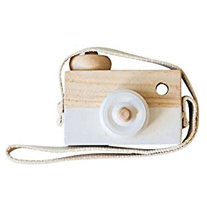 Wooden Camera Toy $11