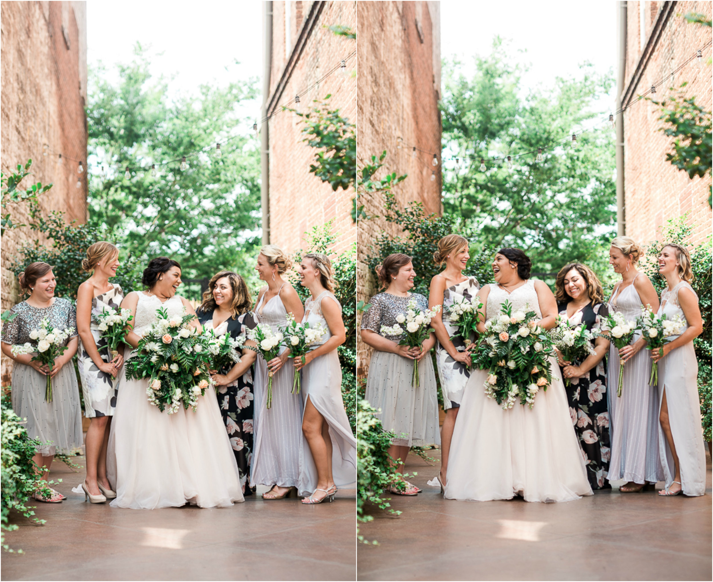 Floral Bridesmaid Dresses, Blush Wedding Gown 1.jpg