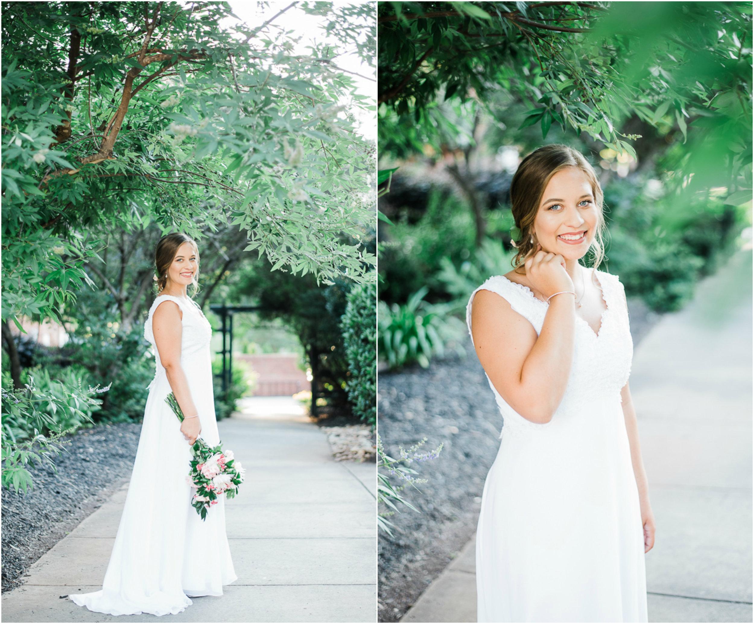Bridal Portrait, Outdoor Bridal Portrait, Garden Bridal Portrait 02.jpg