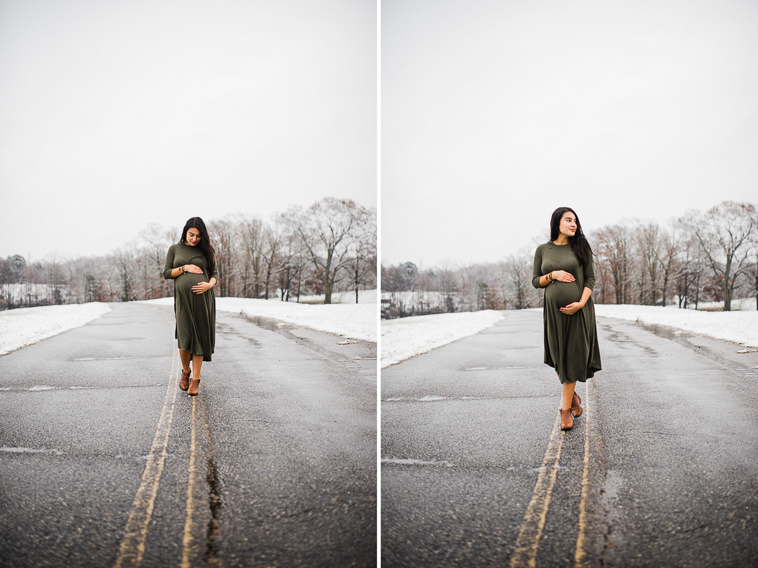Snow, Winter, Baby Bump, Maternity, Photo 4.jpg