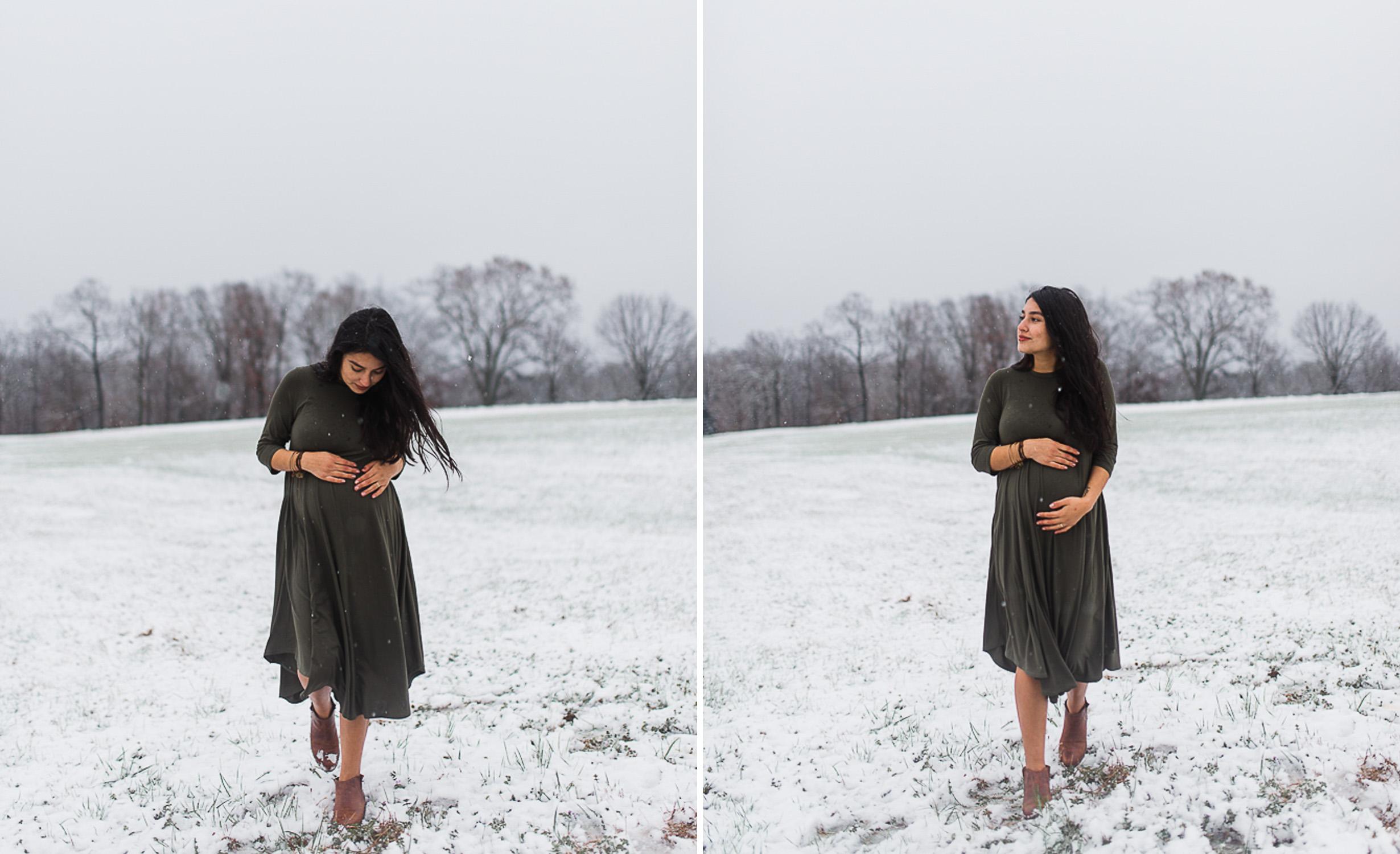 Snow, Winter, Baby Bump, Maternity, Photo 14.jpg