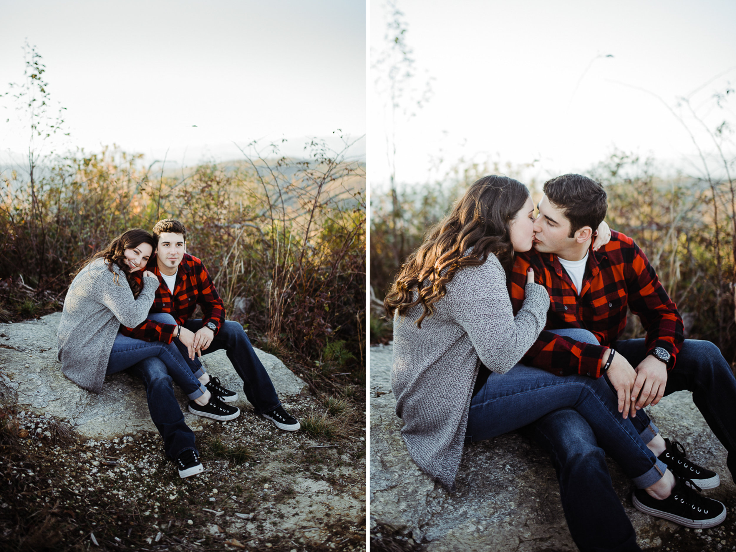 Mountain Engagement Portraits, Fall Engagement Photos, Engaged, 05.jpg