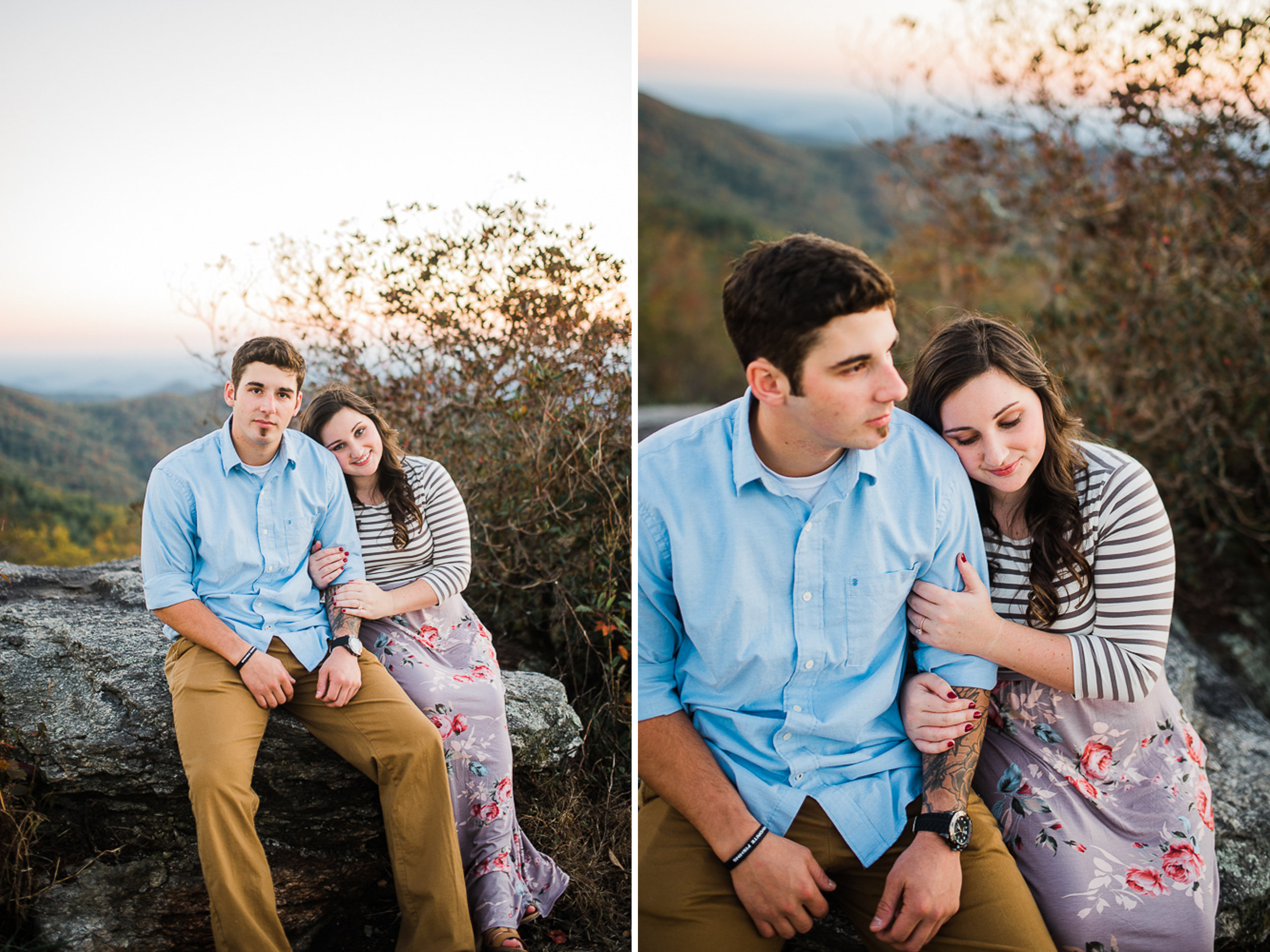 Mountain Engagement Portraits, Fall Engagement Photos, Engaged, 10.jpg