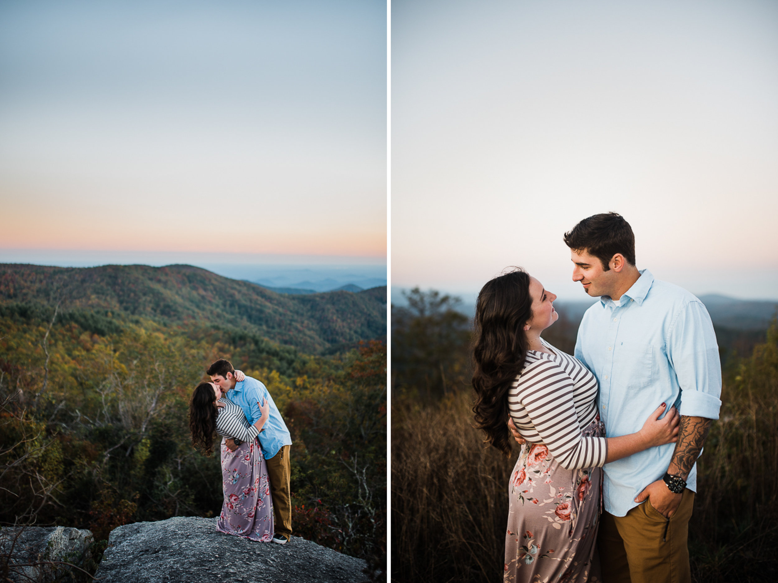Mountain Engagement Portraits, Fall Engagement Photos, Engaged, 12.jpg