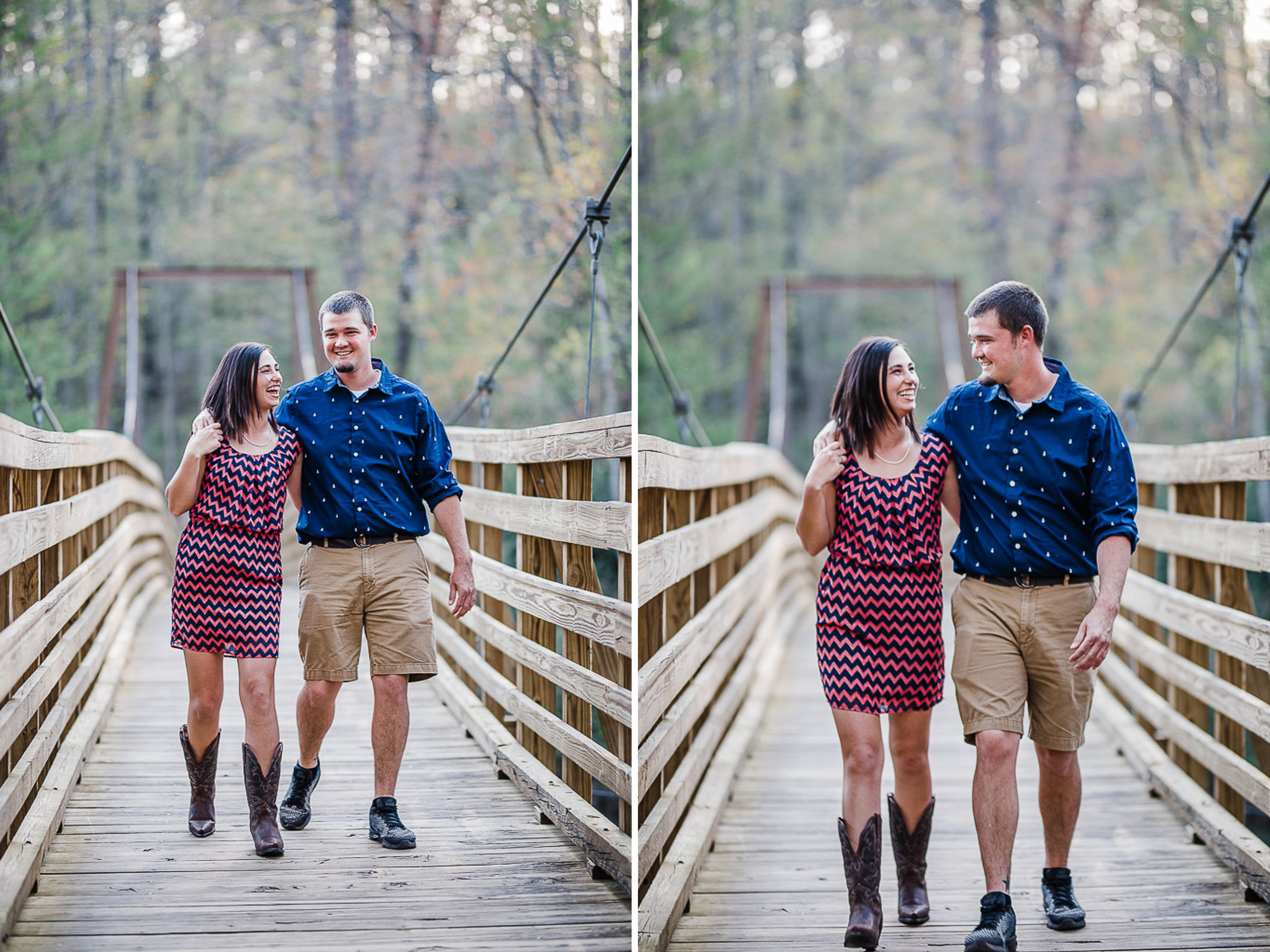 Engagement Portraits, Mountain, Spring, Outdoors, South Carolina, Wedding Photographer 02.jpg