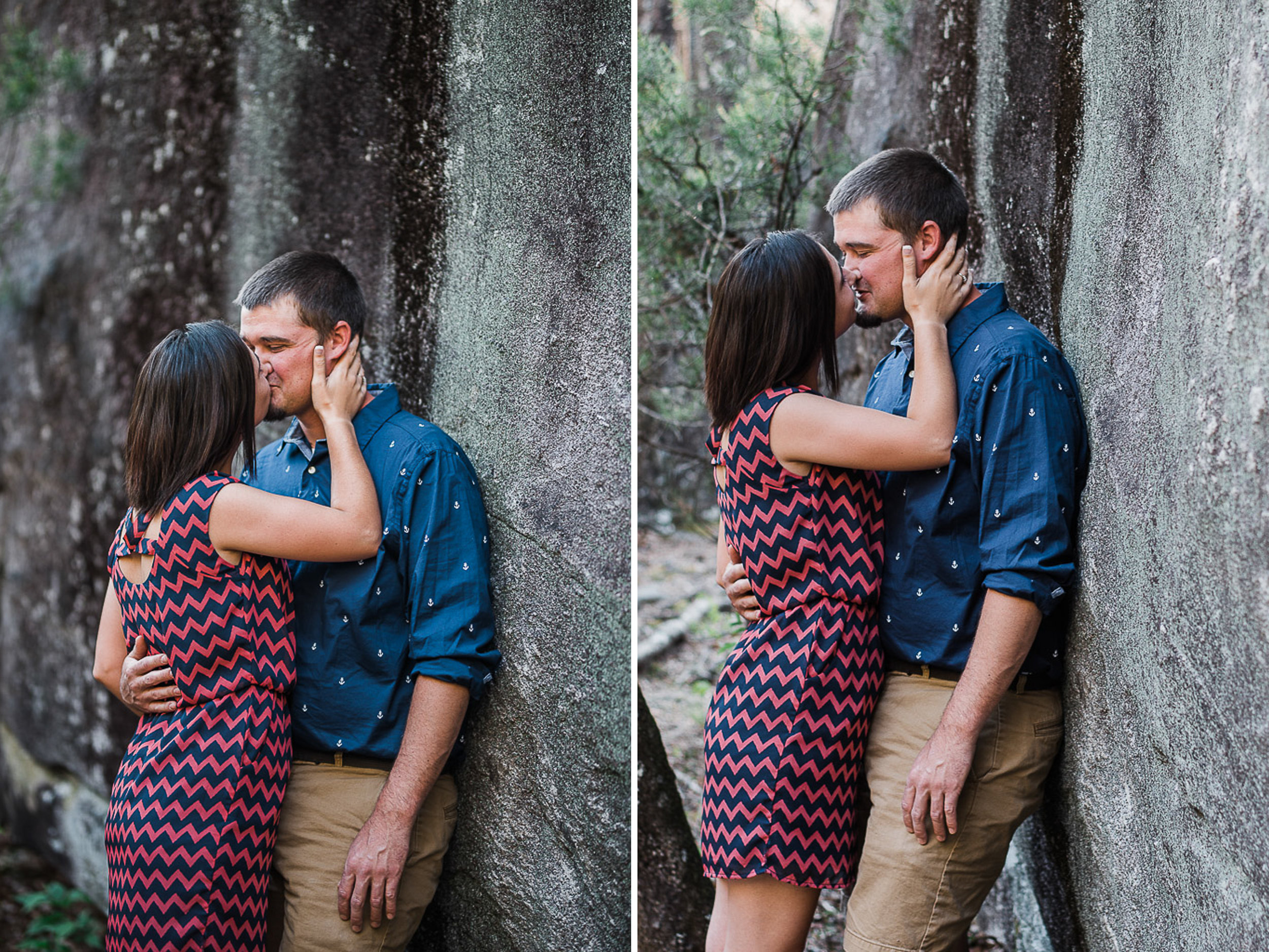 Engagement Portraits, Mountain, Spring, Outdoors, South Carolina, Wedding Photographer 04.jpg