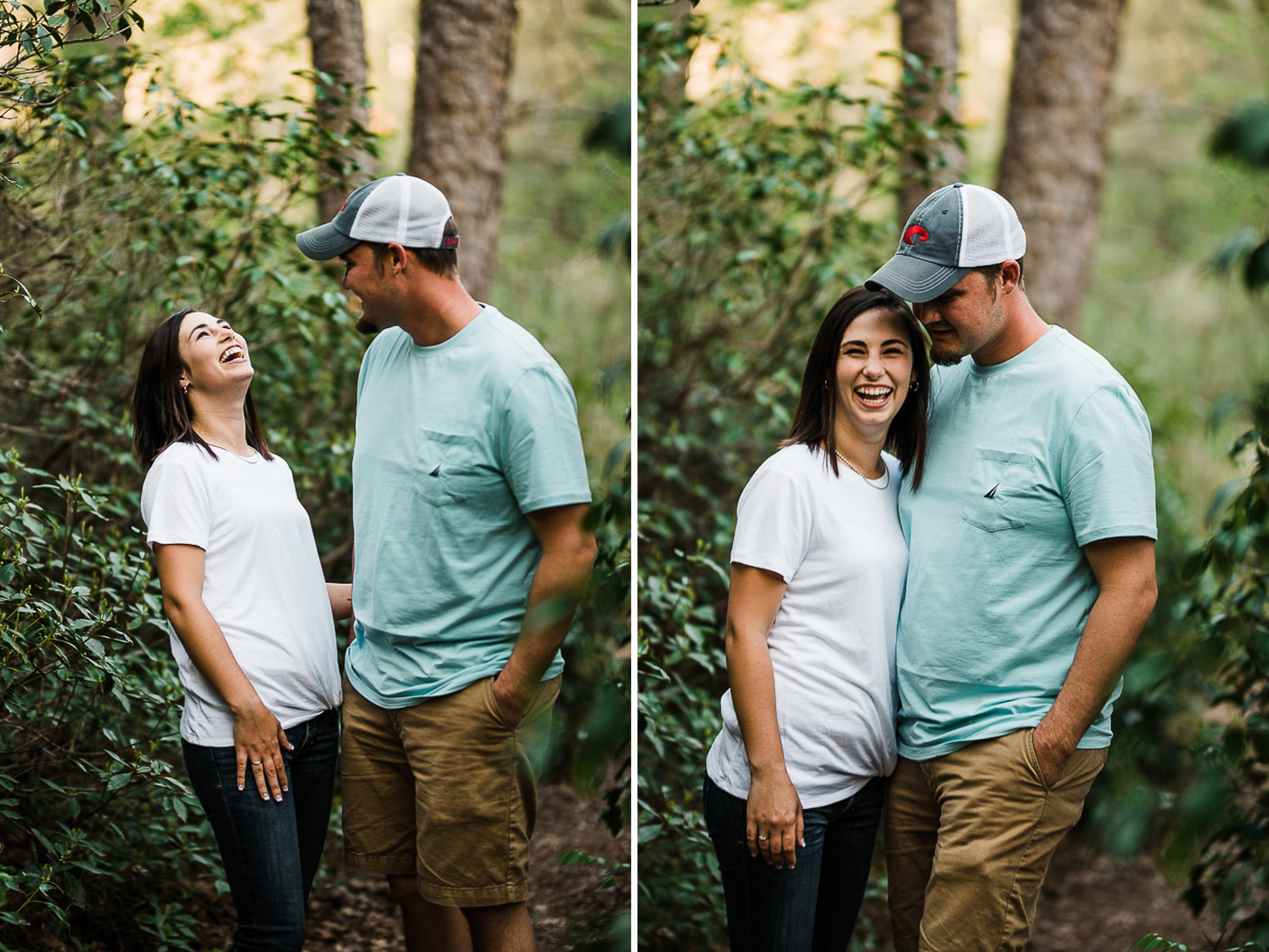 Engagement Portraits, Mountain, Spring, Outdoors, South Carolina, Wedding Photographer 07.jpg