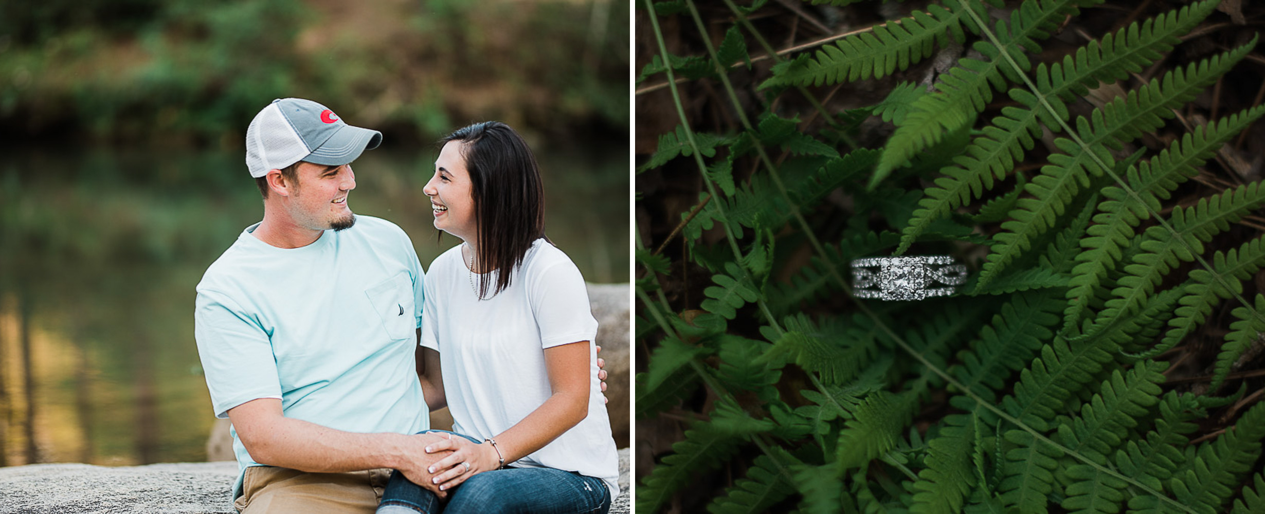 Engagement Portraits, Mountain, Spring, Outdoors, South Carolina, Wedding Photographer 15.jpg