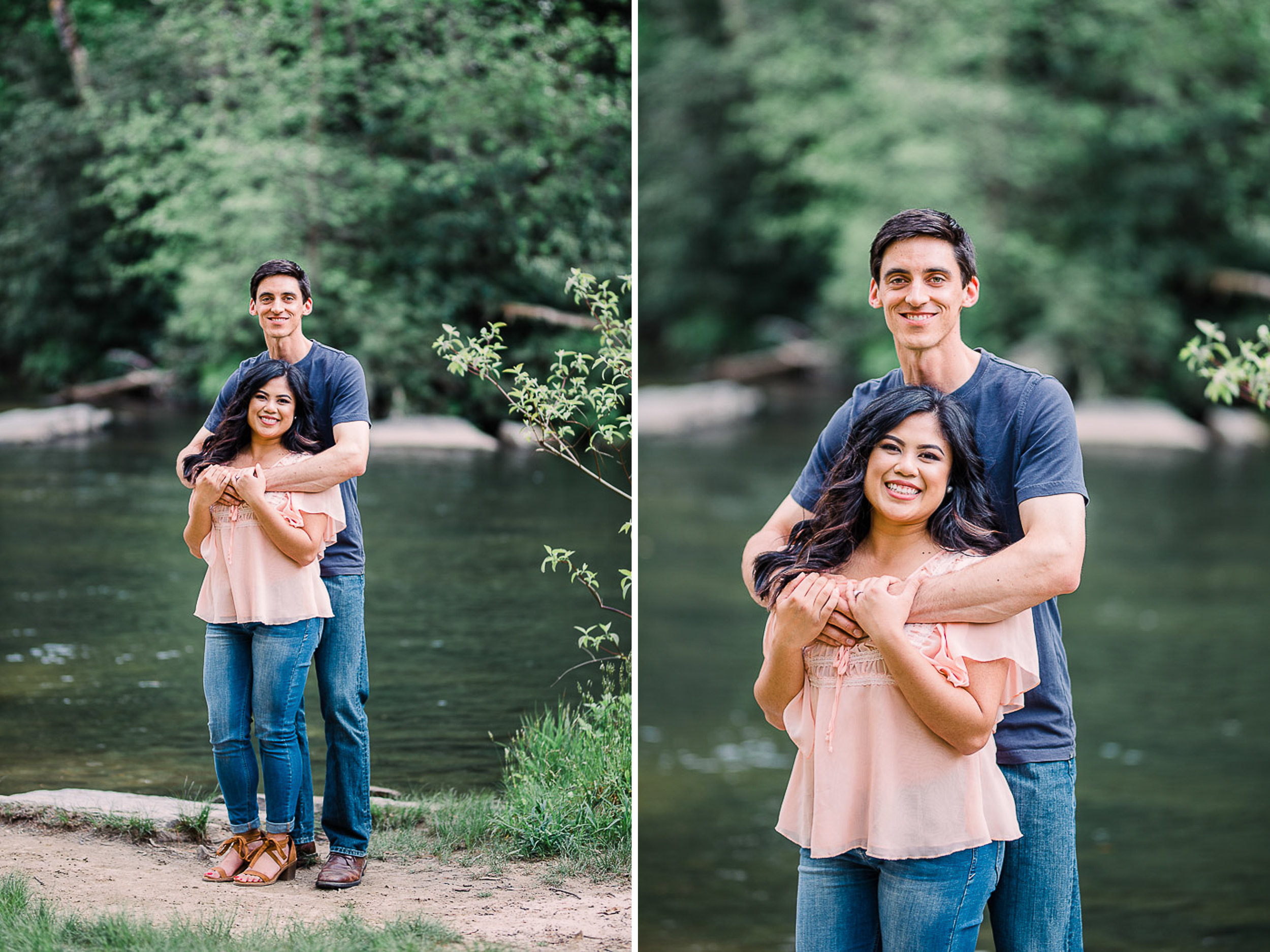 River Engagement Portraits, Engaged, Mountain Engagement, 01.jpg