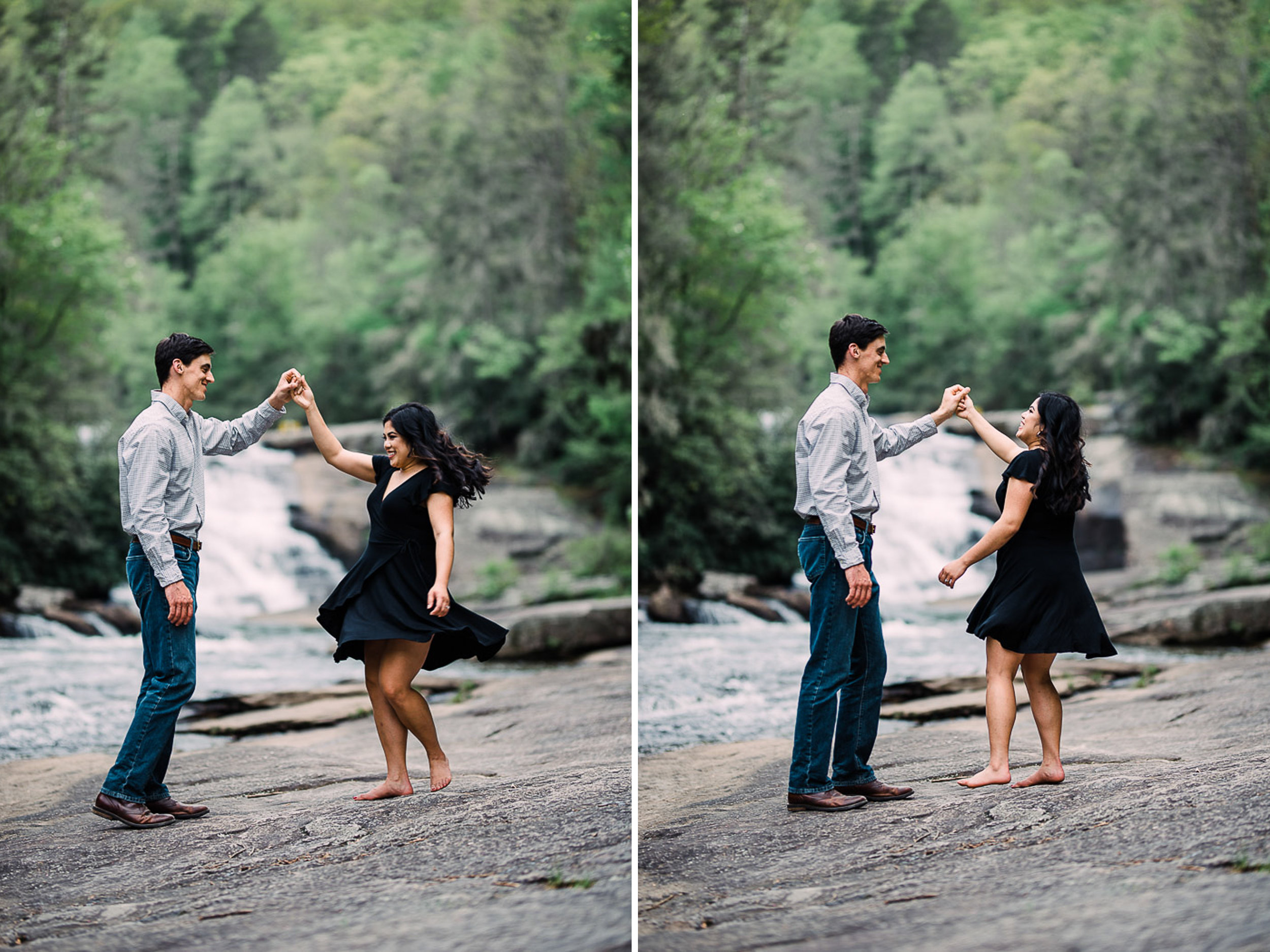 River Engagement Portraits, Engaged, Mountain Engagement, 08.jpg