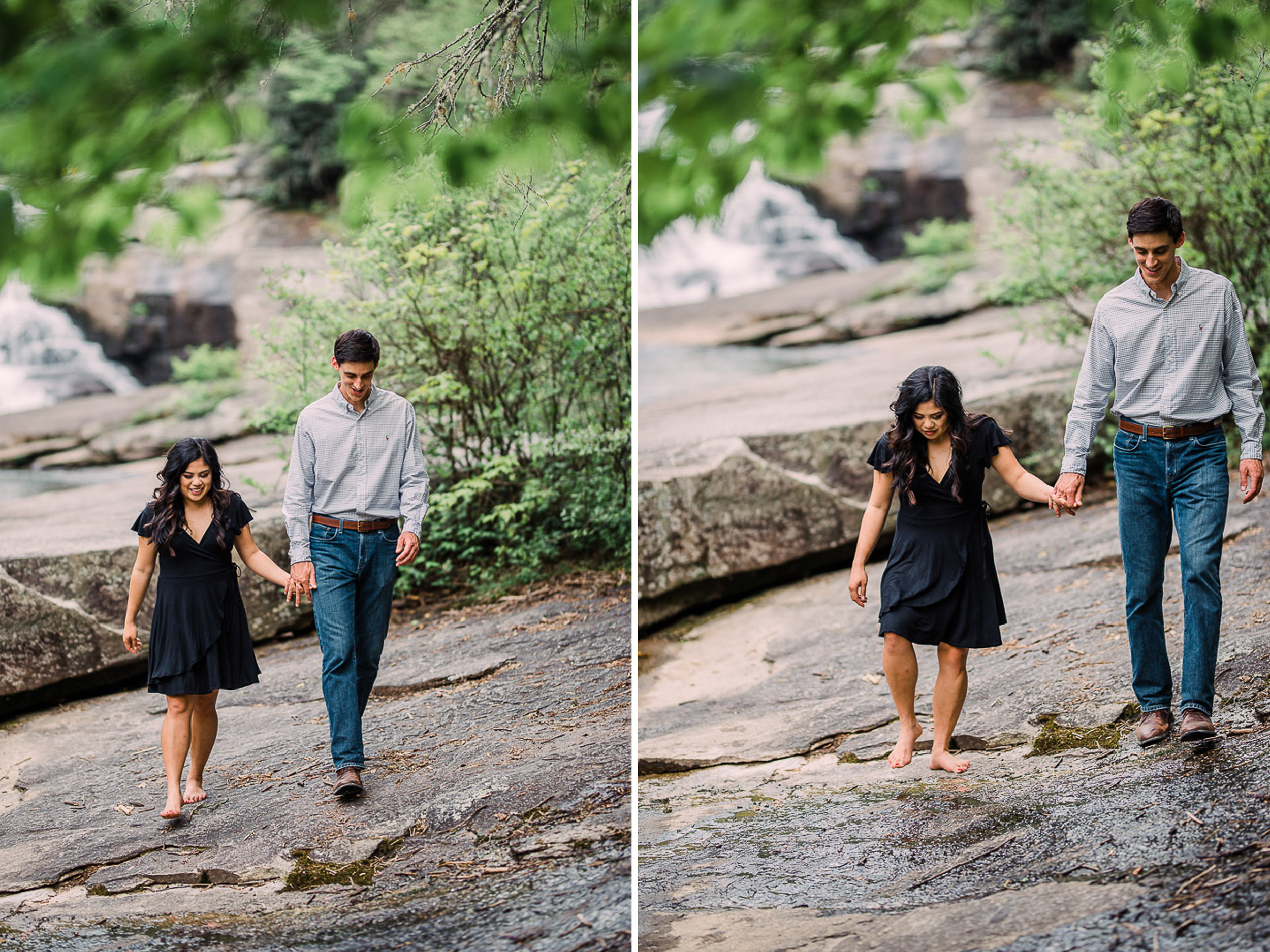 River Engagement Portraits, Engaged, Mountain Engagement, 10.jpg