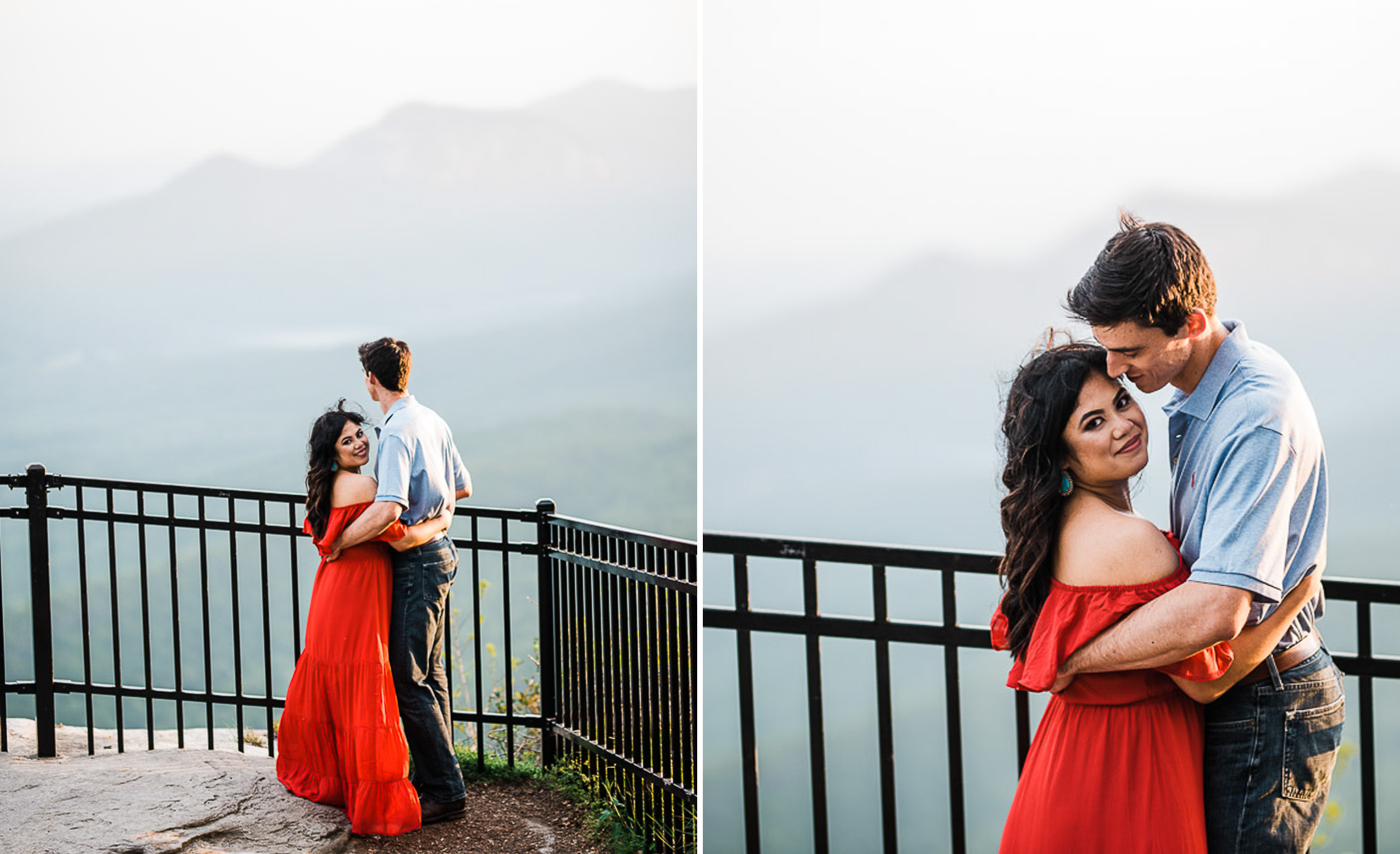River Engagement Portraits, Engaged, Mountain Engagement, 23.jpg