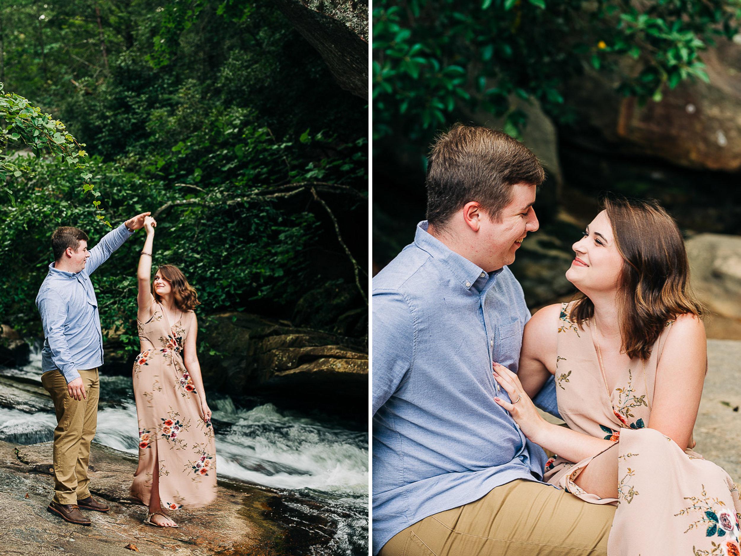 River Engagement Portraits, Summer Engagement Portraits, Engaged, South Carolina 02.jpg