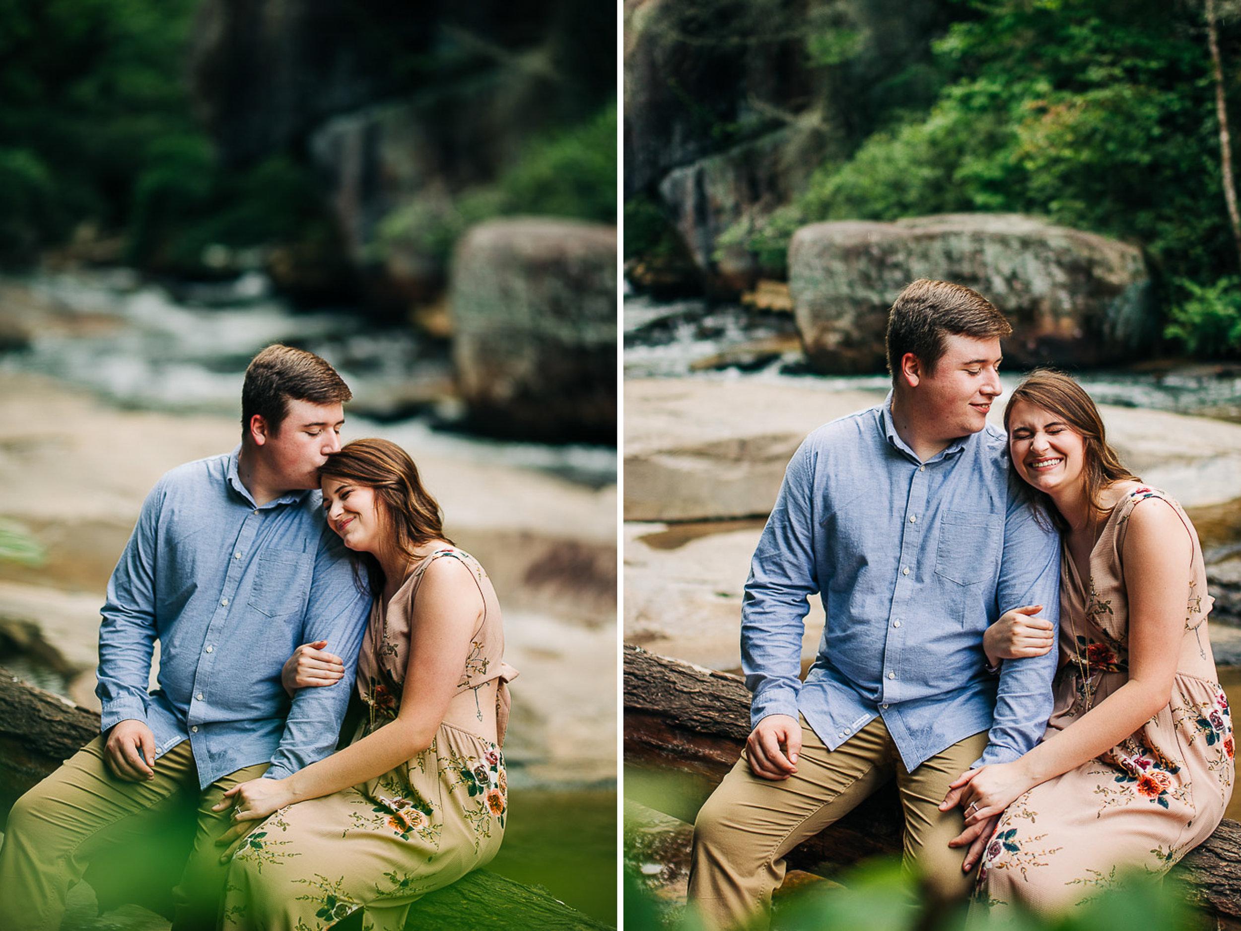 River Engagement Portraits, Summer Engagement Portraits, Engaged, South Carolina 03.jpg