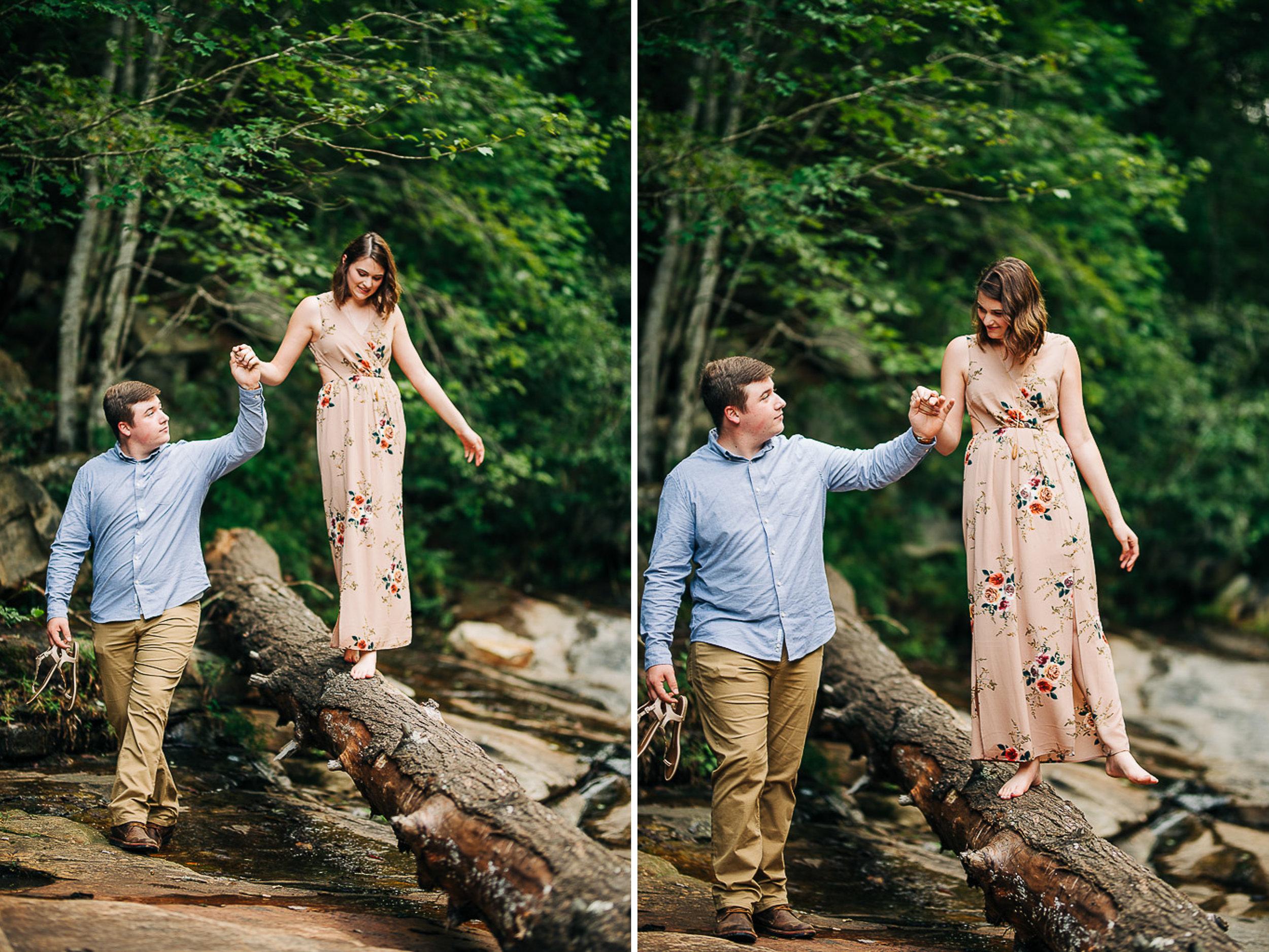 River Engagement Portraits, Summer Engagement Portraits, Engaged, South Carolina 05.jpg