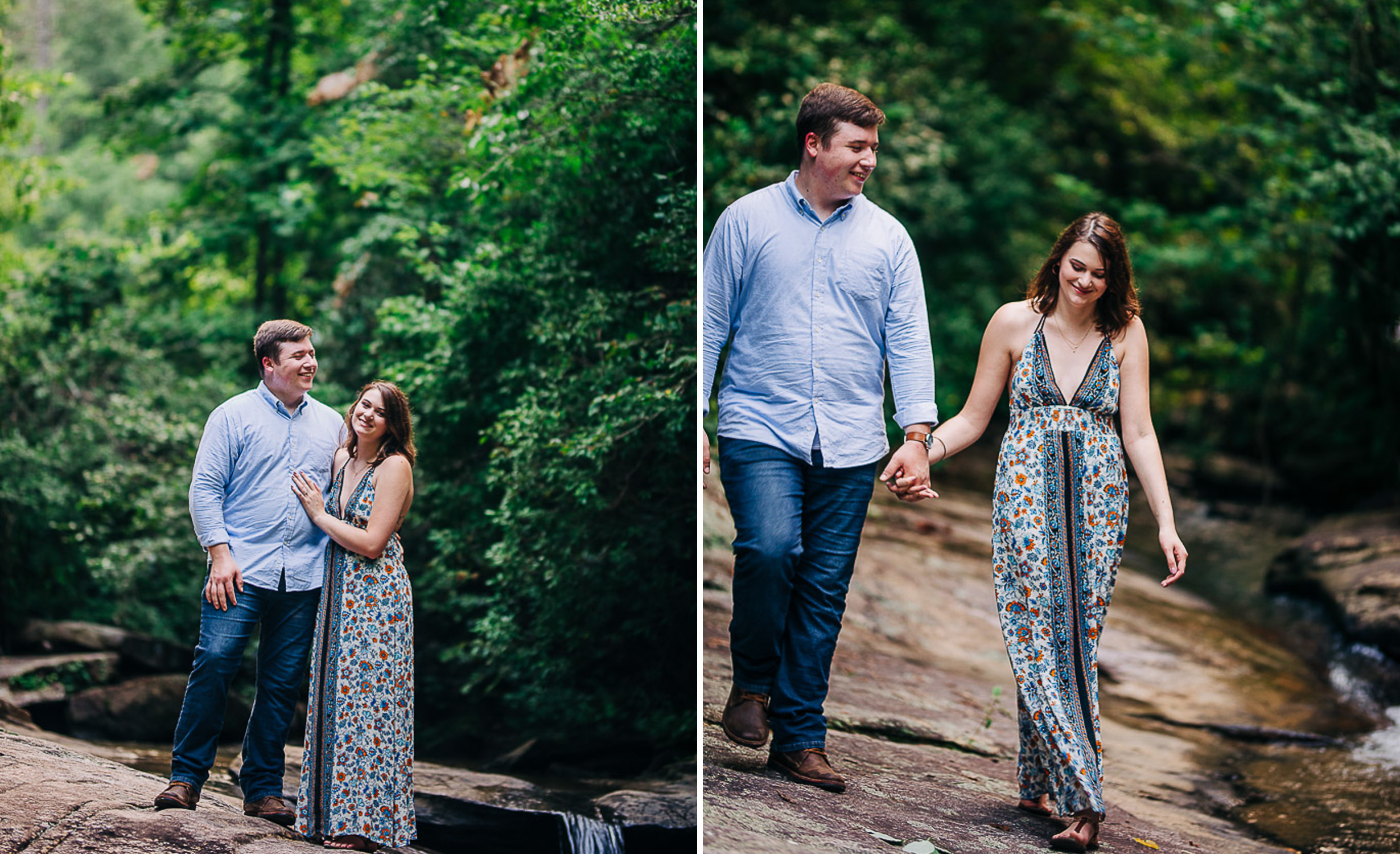 River Engagement Portraits, Summer Engagement Portraits, Engaged, South Carolina 09.jpg