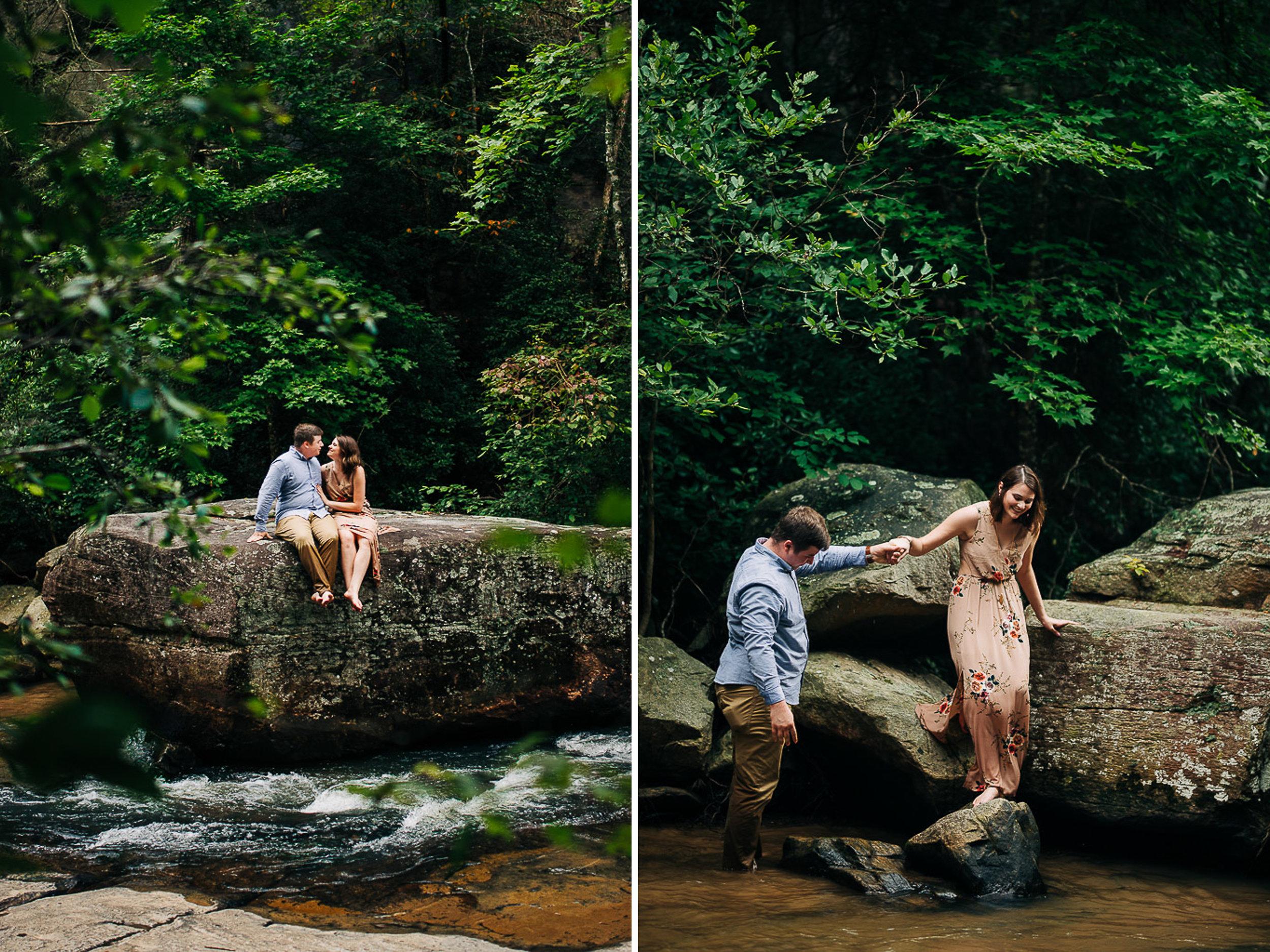 River Engagement Portraits, Summer Engagement Portraits, Engaged, South Carolina 08.jpg
