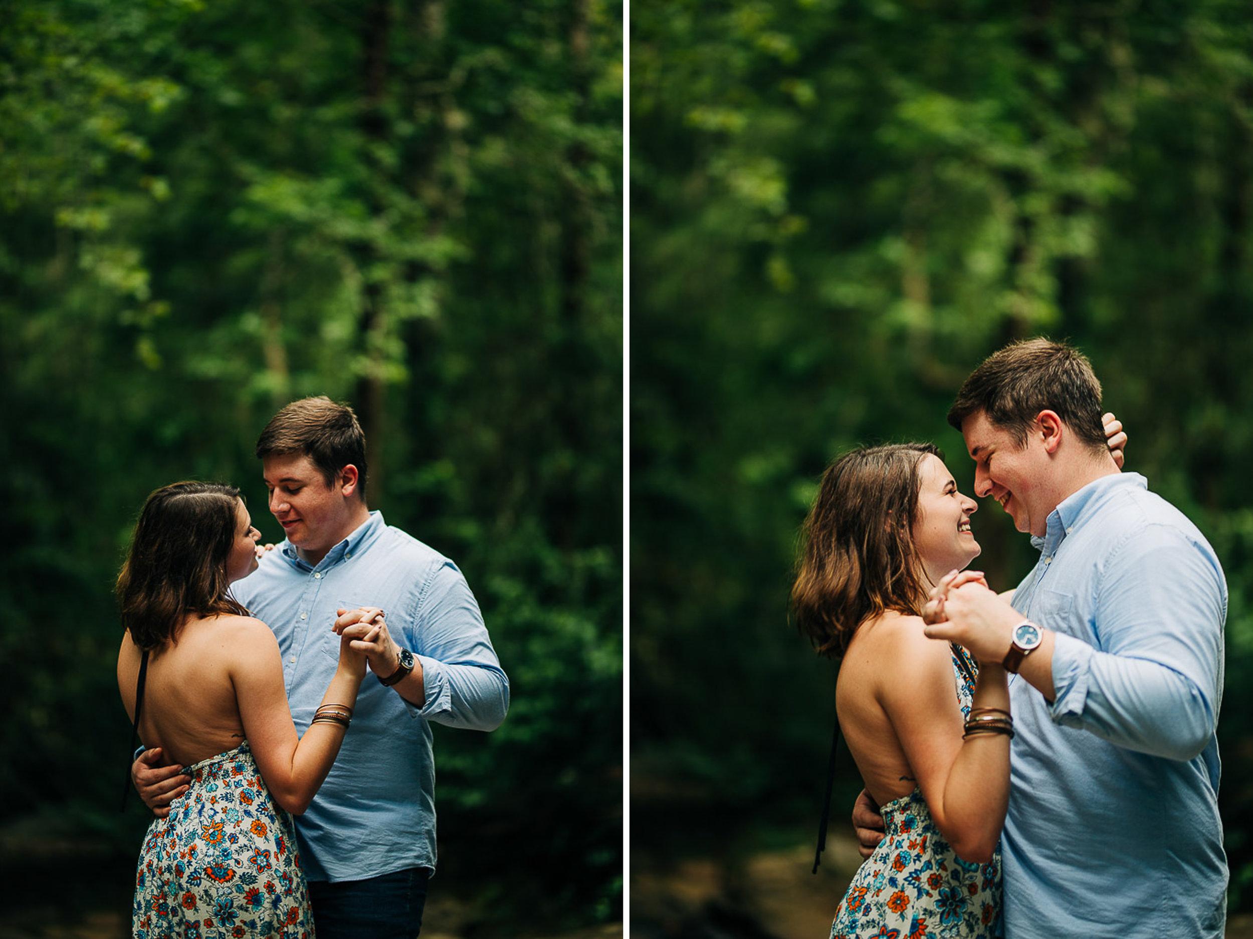 River Engagement Portraits, Summer Engagement Portraits, Engaged, South Carolina 12.jpg