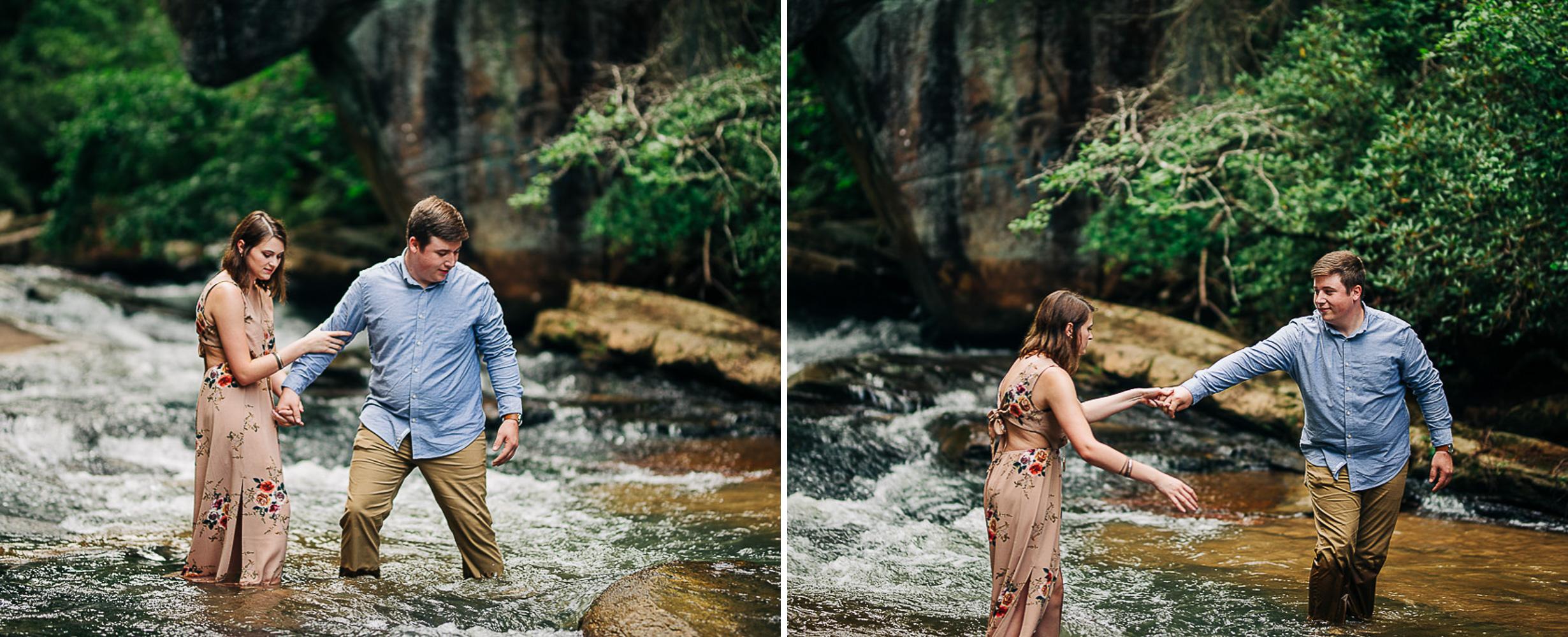 River Engagement Portraits, Summer Engagement Portraits, Engaged, South Carolina 16.jpg