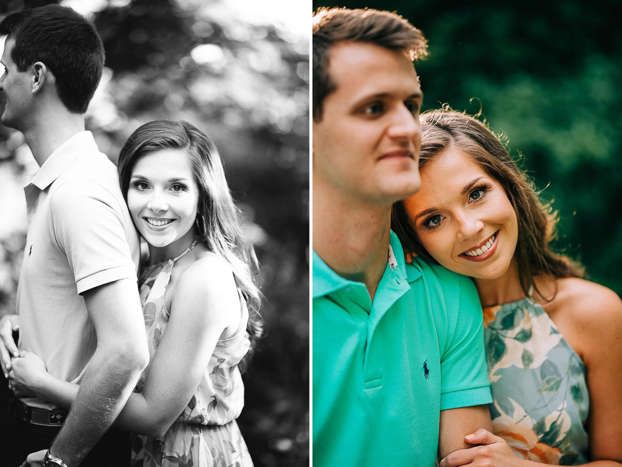 Mountain Engagement Portraits, Summer, SC Wedding Photographers, 01.jpg
