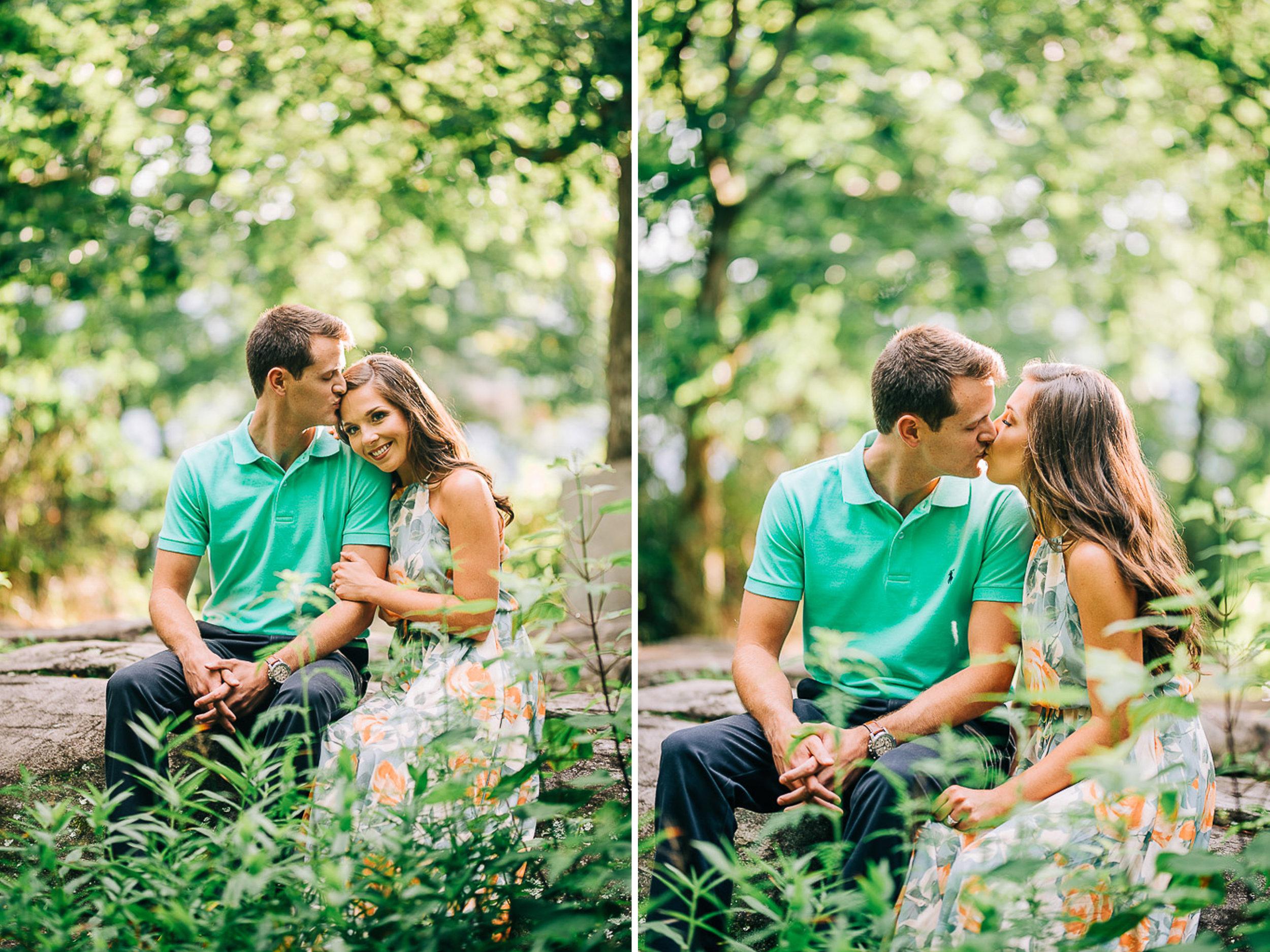 Mountain Engagement Portraits, Summer, SC Wedding Photographers, 02.jpg