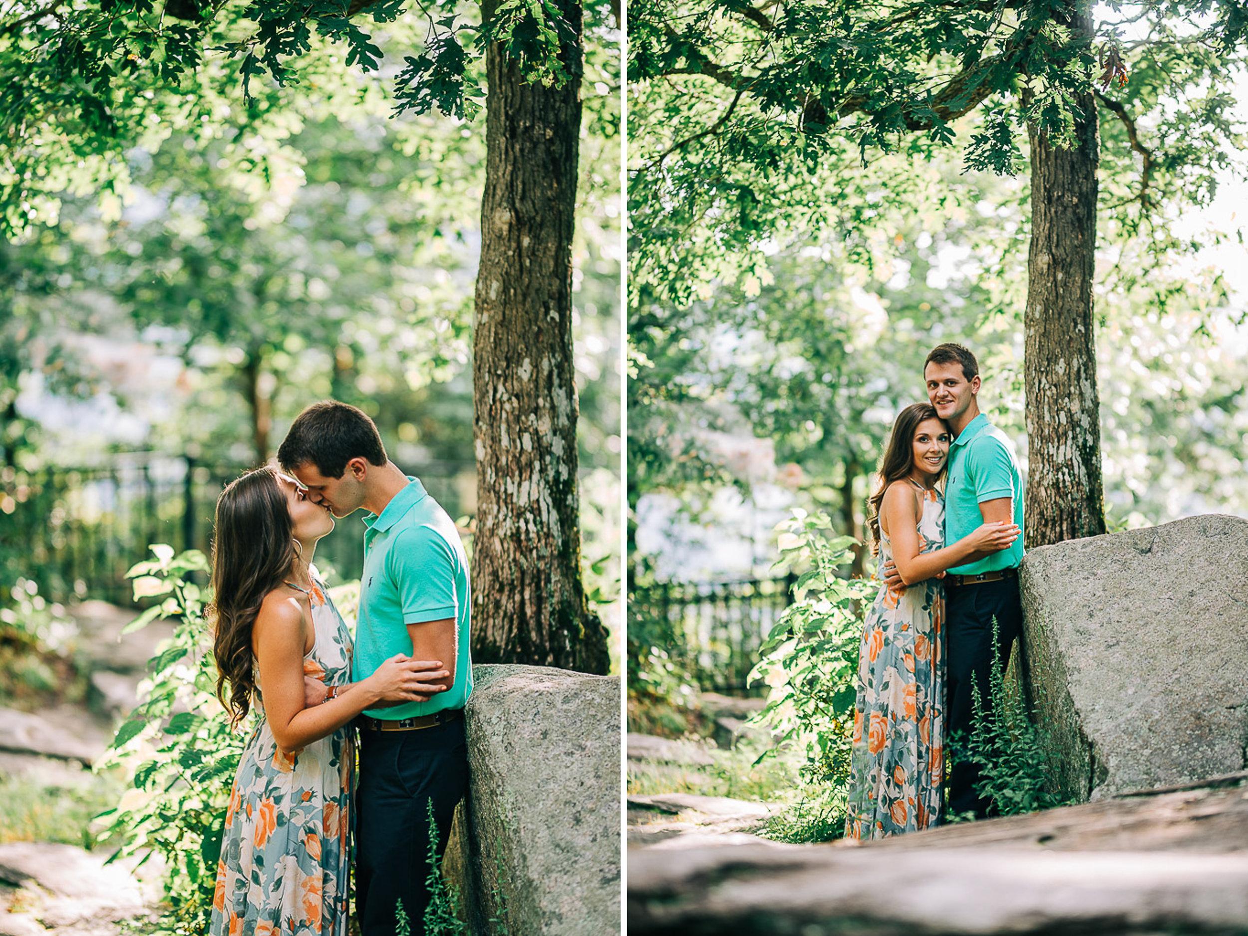 Mountain Engagement Portraits, Summer, SC Wedding Photographers, 03.jpg