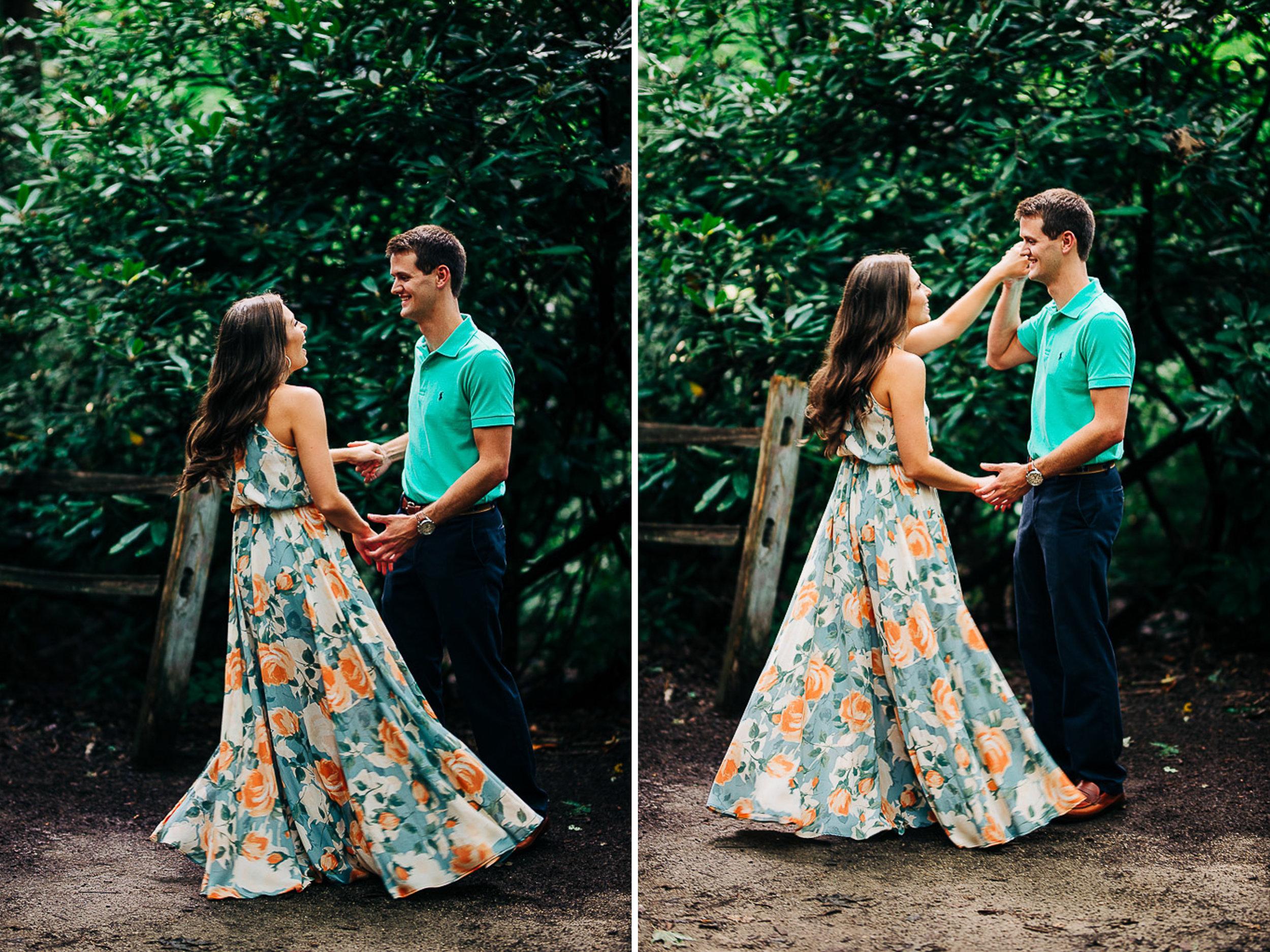 Mountain Engagement Portraits, Summer, SC Wedding Photographers, 05.jpg
