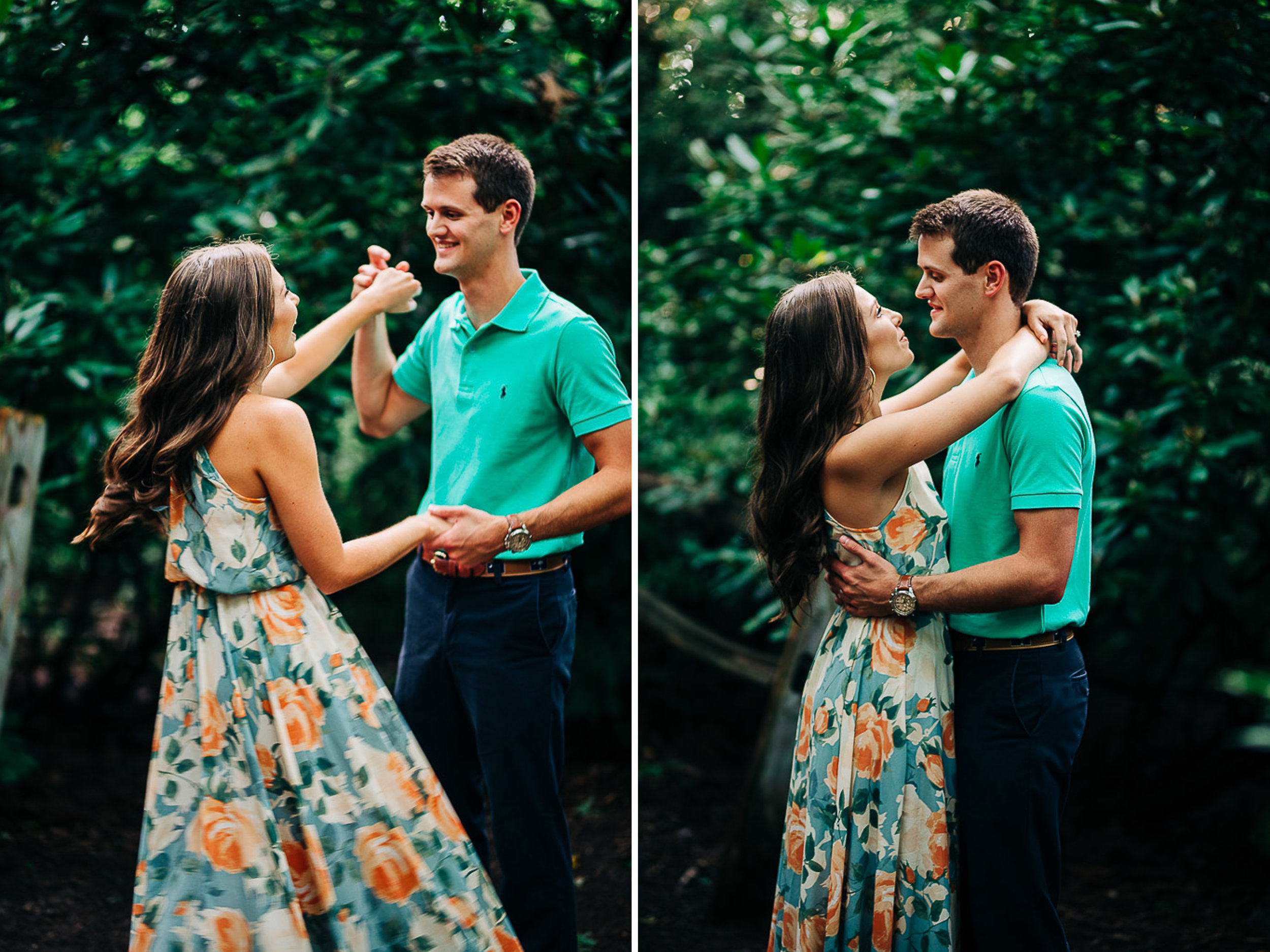 Mountain Engagement Portraits, Summer, SC Wedding Photographers, 06.jpg