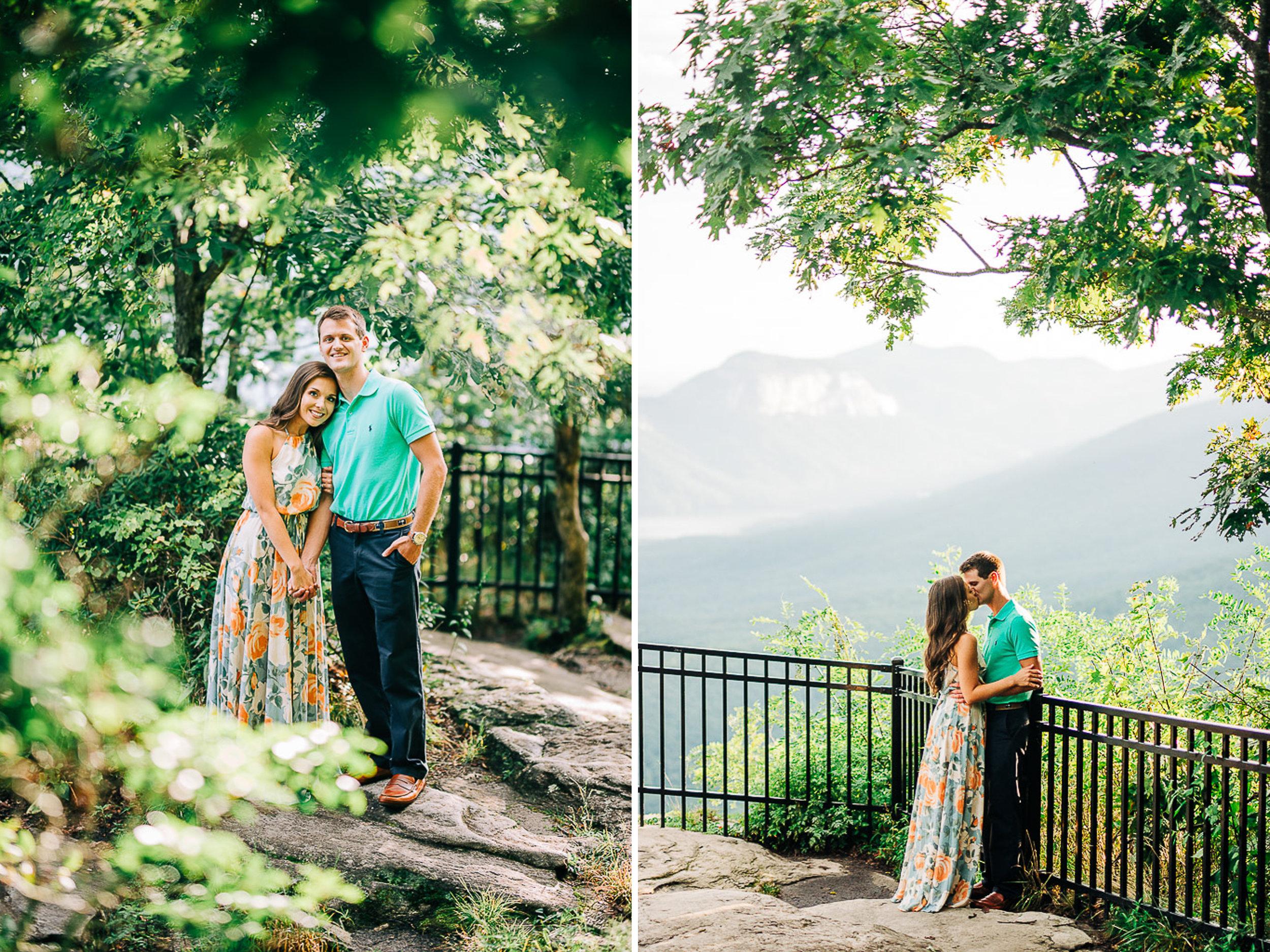 Mountain Engagement Portraits, Summer, SC Wedding Photographers, 08.jpg